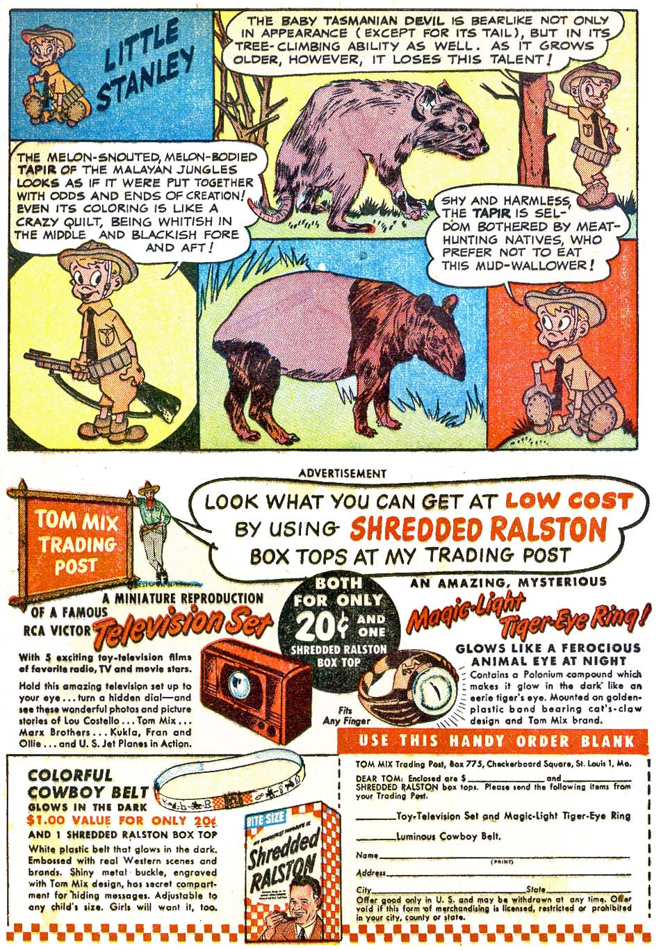 Read online Animal Antics comic -  Issue #28 - 25
