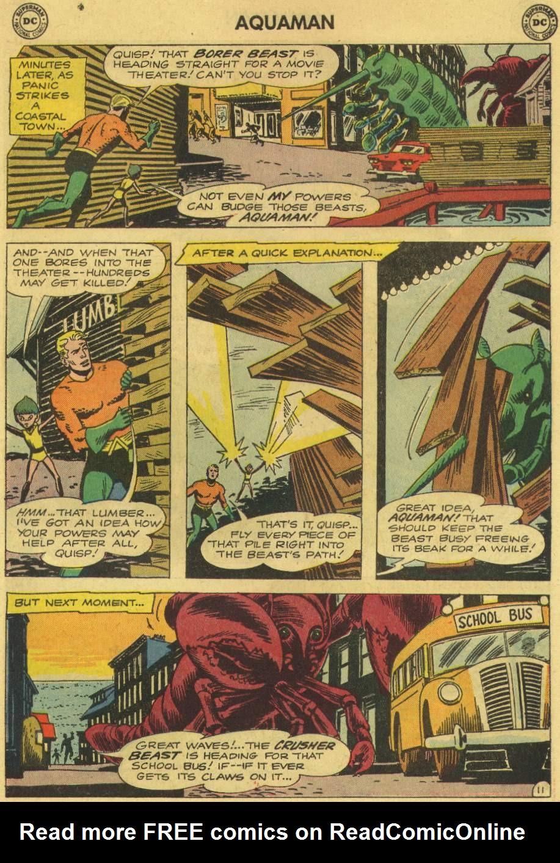 Read online Aquaman (1962) comic -  Issue #6 - 15