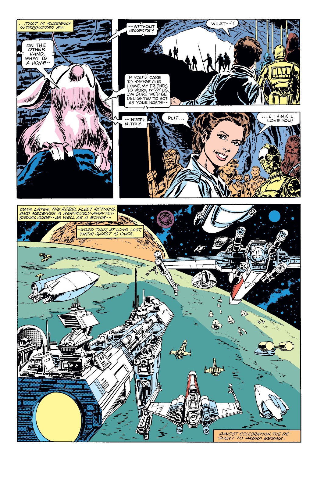Read online Star Wars Legends: The Original Marvel Years - Epic Collection comic -  Issue # TPB 3 (Part 4) - 77