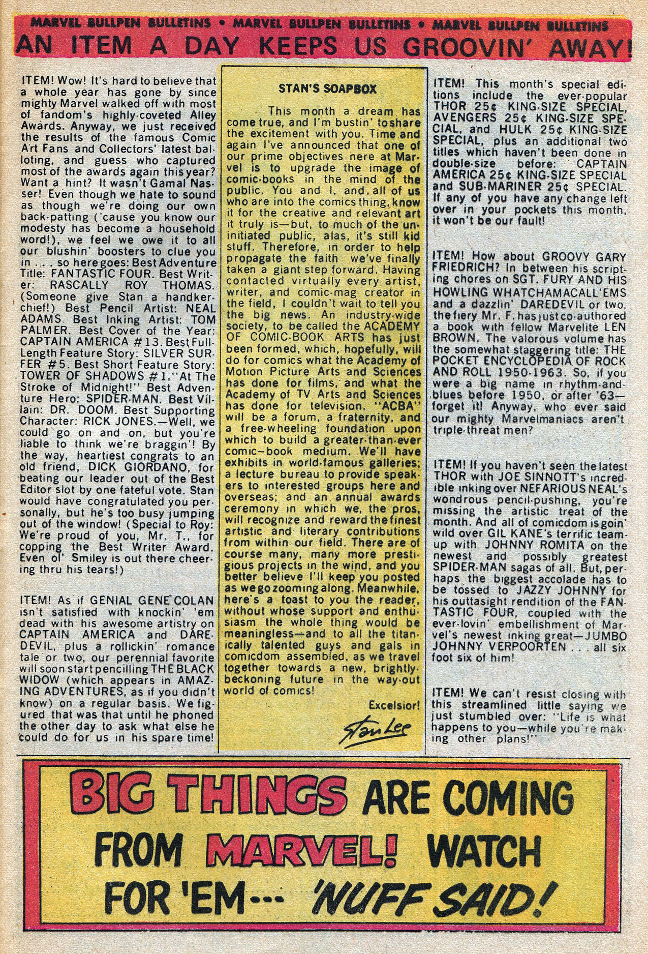 Read online Amazing Adventures (1970) comic -  Issue #3 - 33