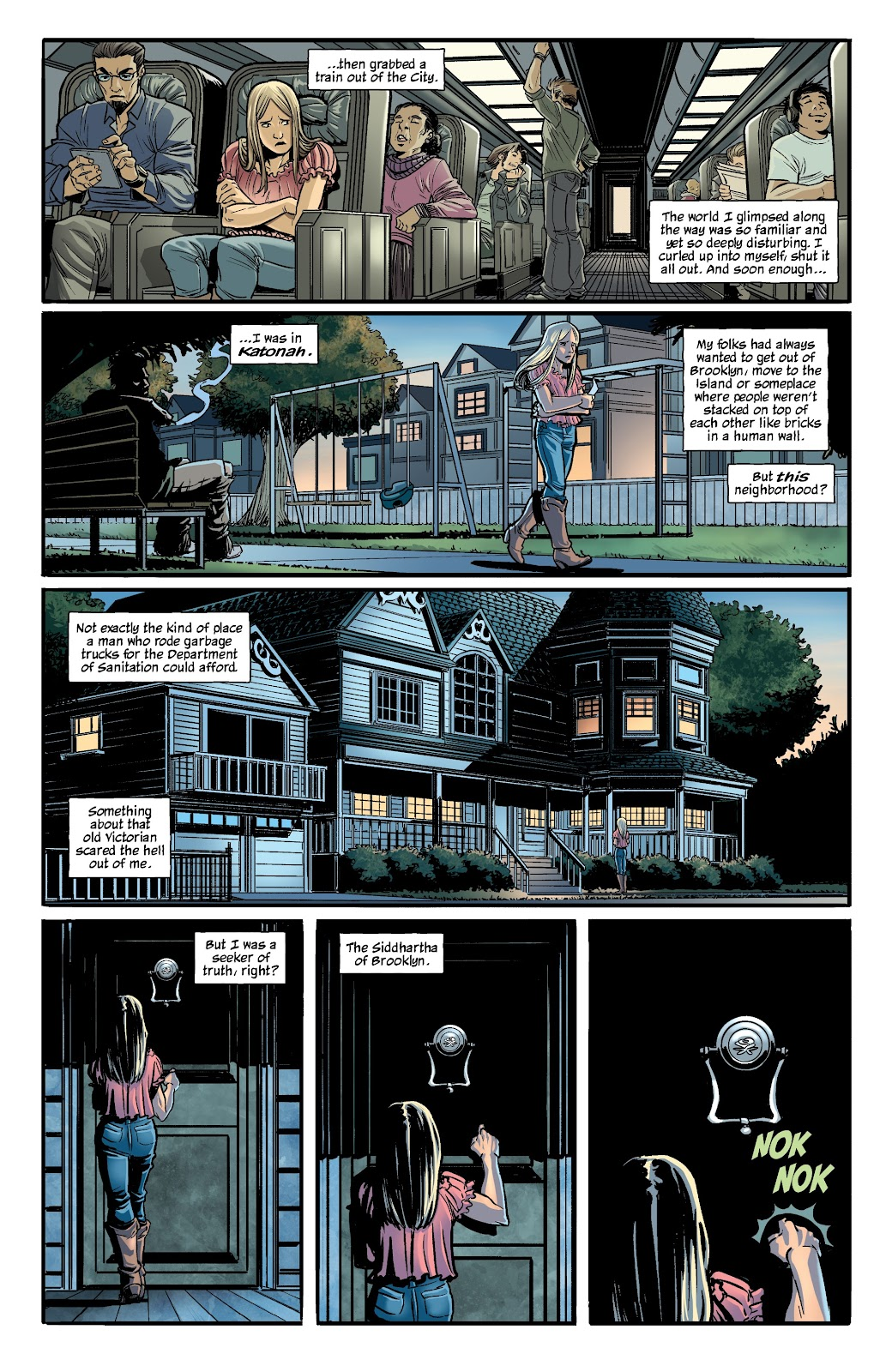 Read online The Girl In The Bay comic -  Issue #1 - 20