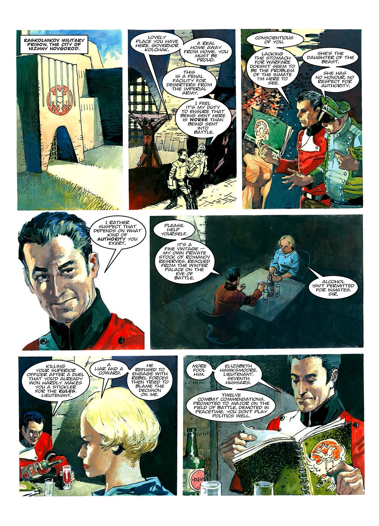 Read online Nikolai Dante comic -  Issue # TPB 10 - 9