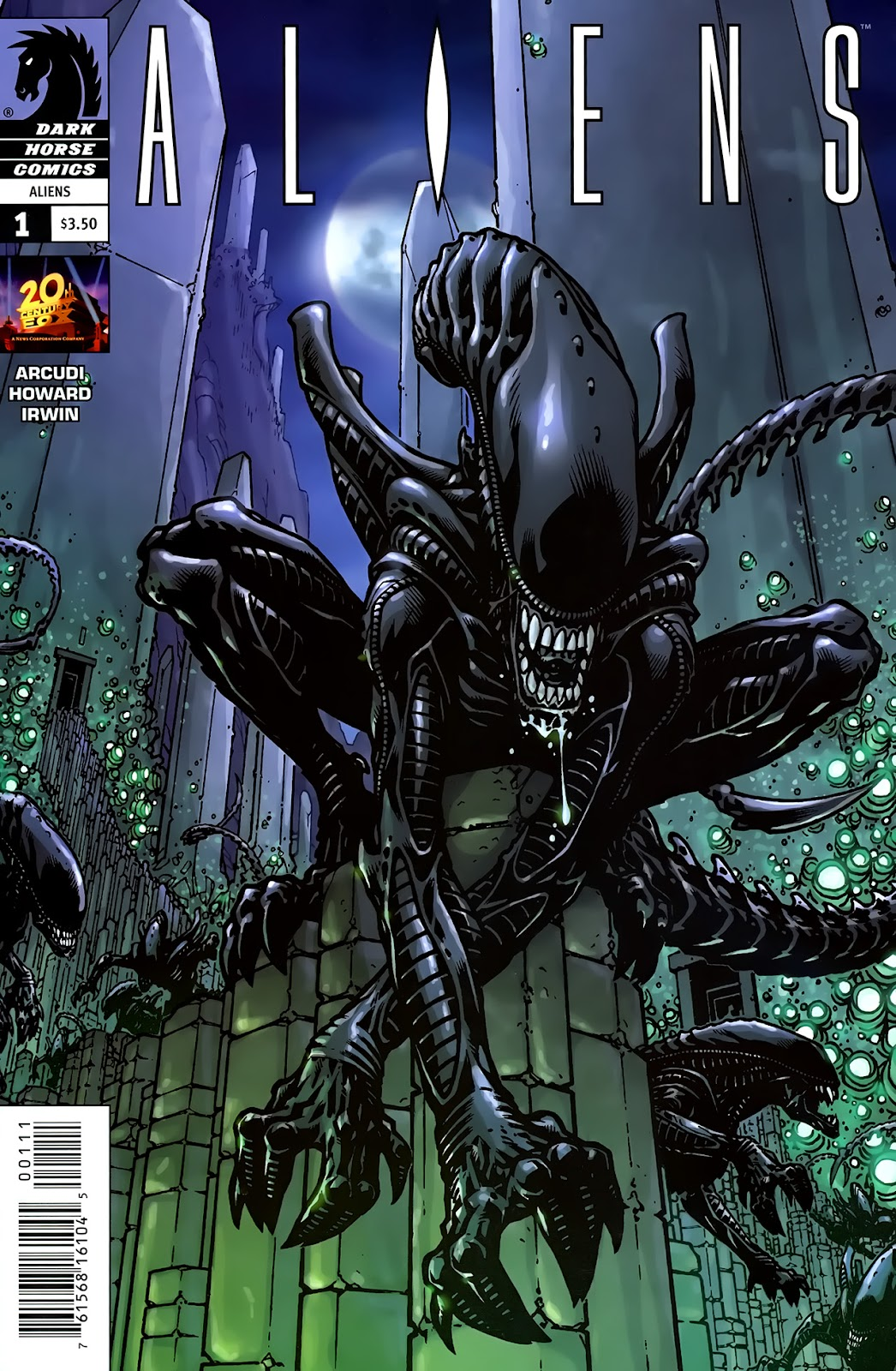 Read online Aliens (2009) comic -  Issue #1 - 1