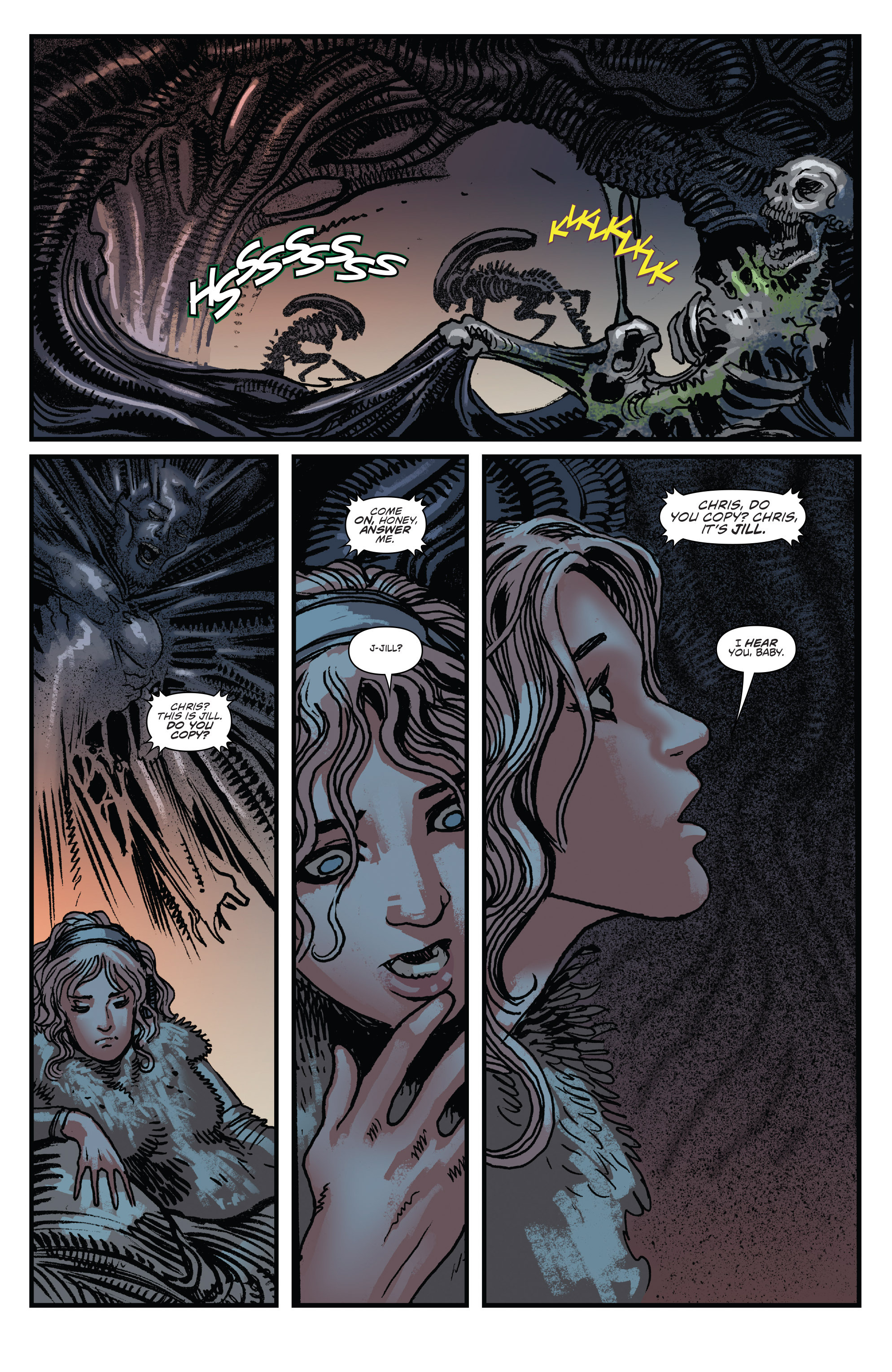 Read online Aliens: Life And Death comic -  Issue #2 - 22