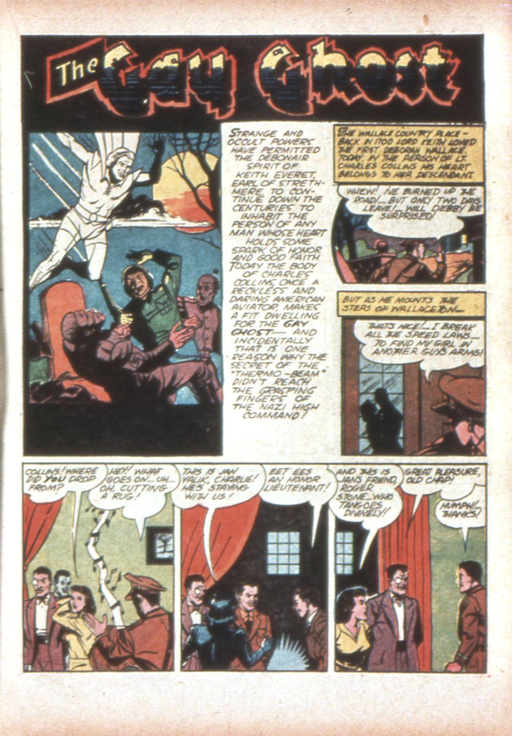 Read online Sensation (Mystery) Comics comic -  Issue #19 - 25