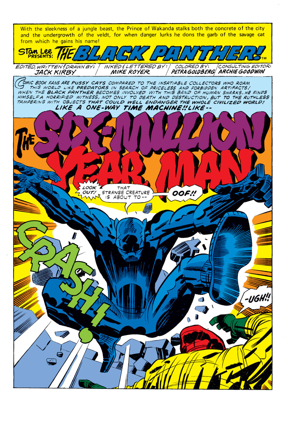 Black Panther (1977) issue 2 - Page 2