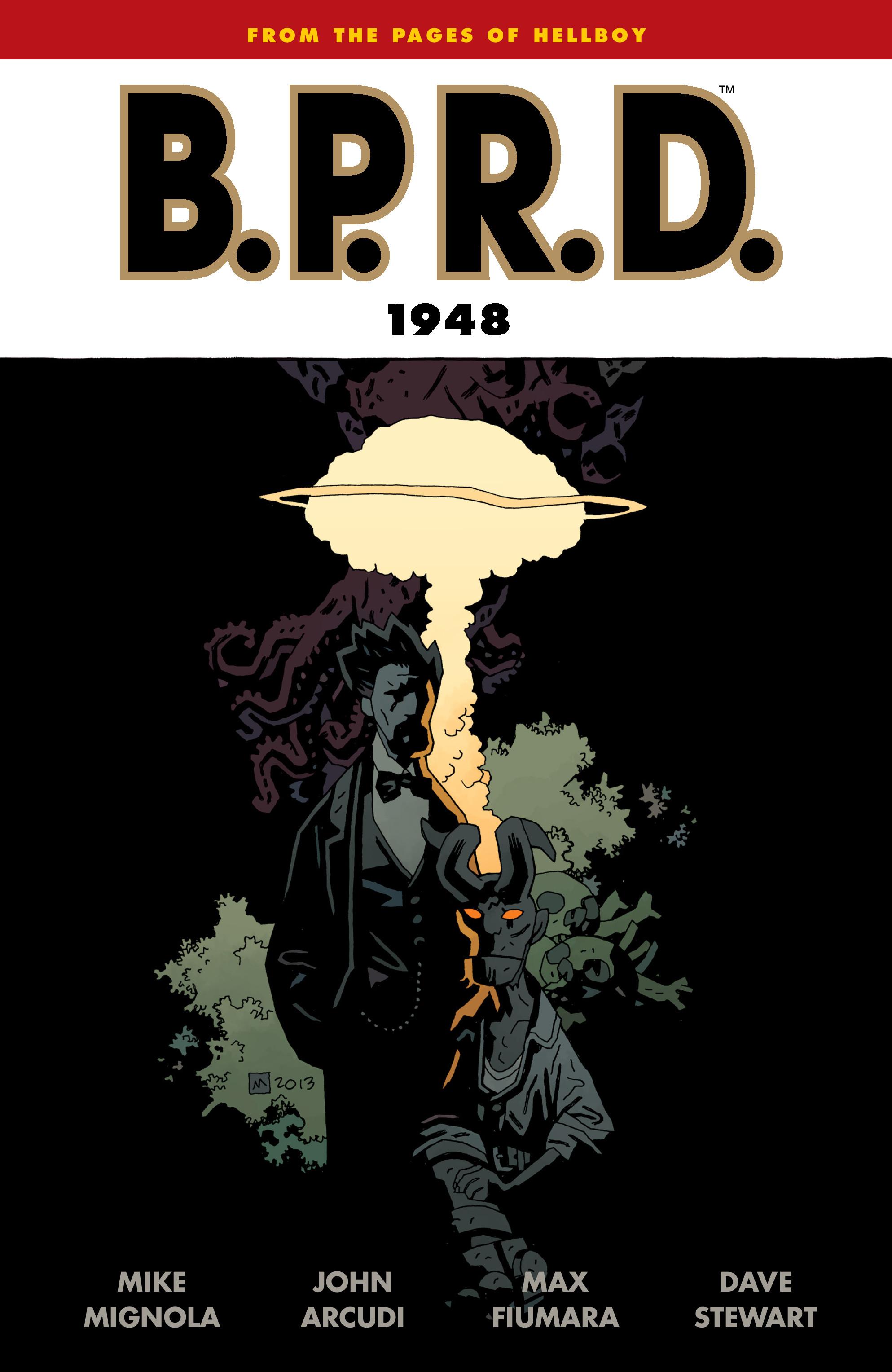 Read online B.P.R.D.: 1948 comic -  Issue # TPB - 1