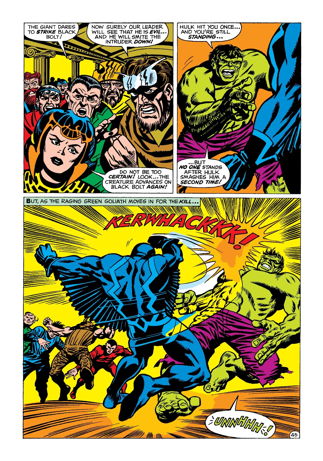 Read online Marvel Masterworks: The Incredible Hulk comic -  Issue # TPB 4 (Part 2) - 78
