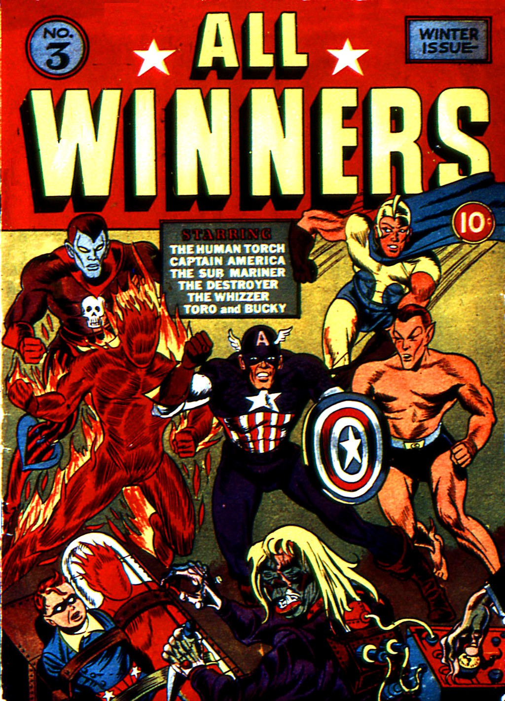 Read online All-Winners Comics comic -  Issue #3 - 2