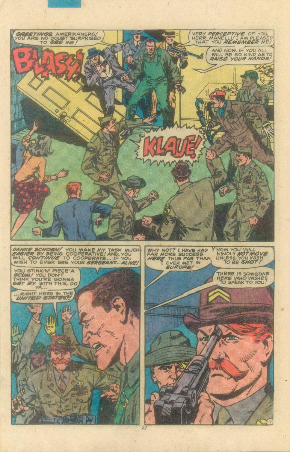 Read online Sgt. Fury comic -  Issue #162 - 24