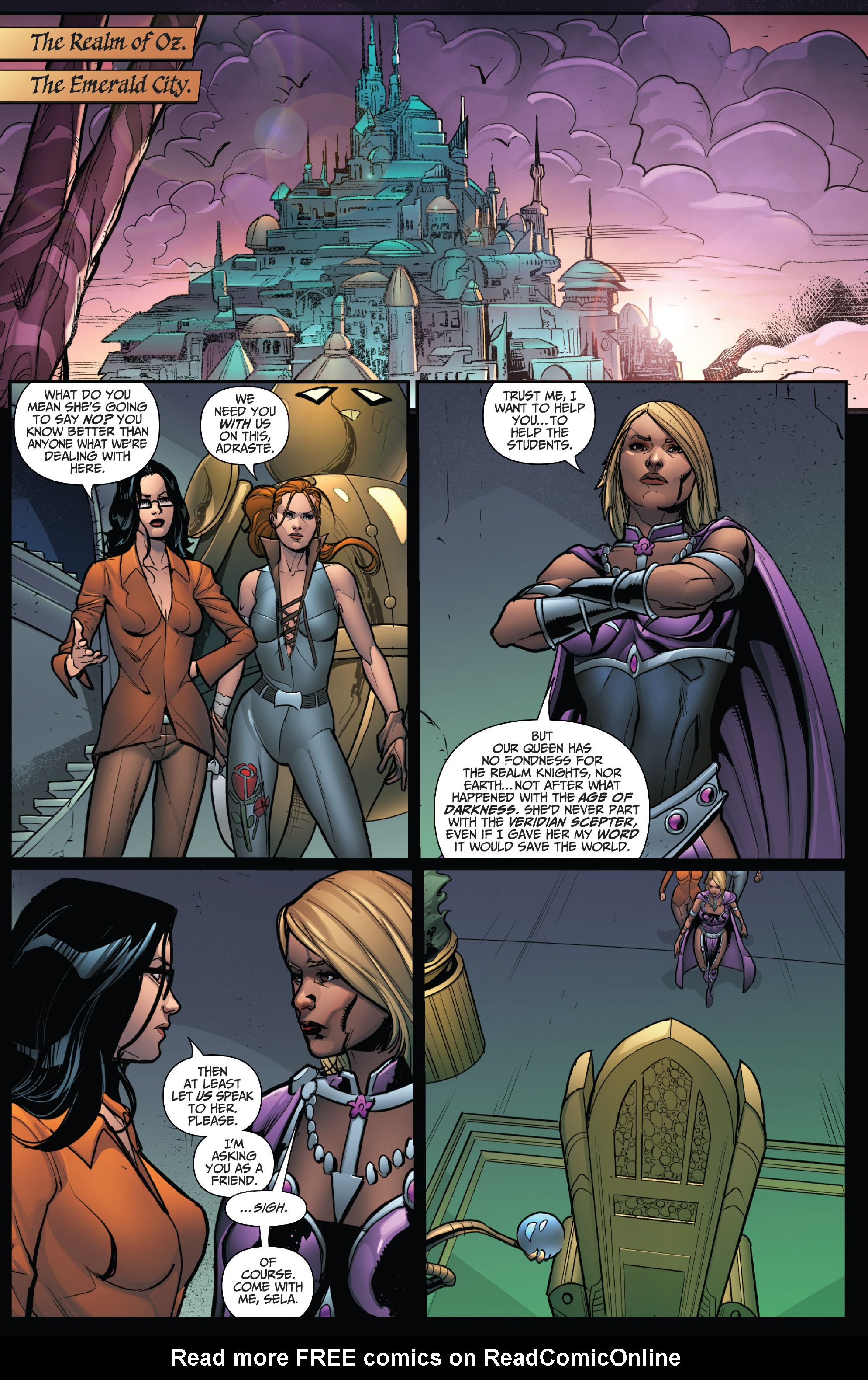 Read online Grimm Fairy Tales: Arcane Acre comic -  Issue # TPB 4 - 122