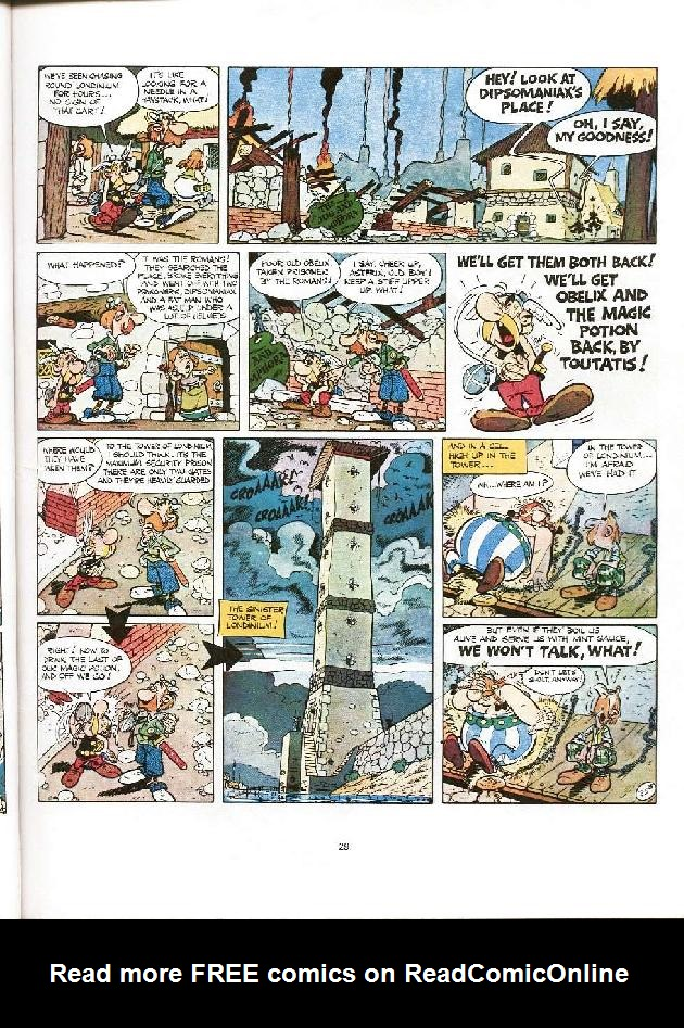Read online Asterix comic -  Issue #8 - 26