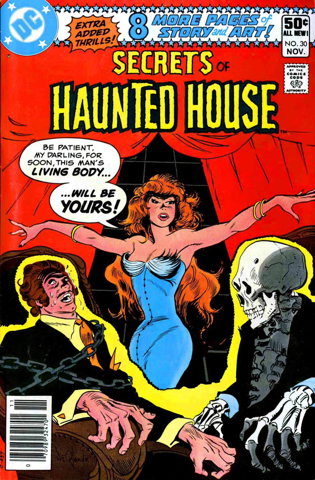 Read online Secrets of Haunted House comic -  Issue #30 - 1