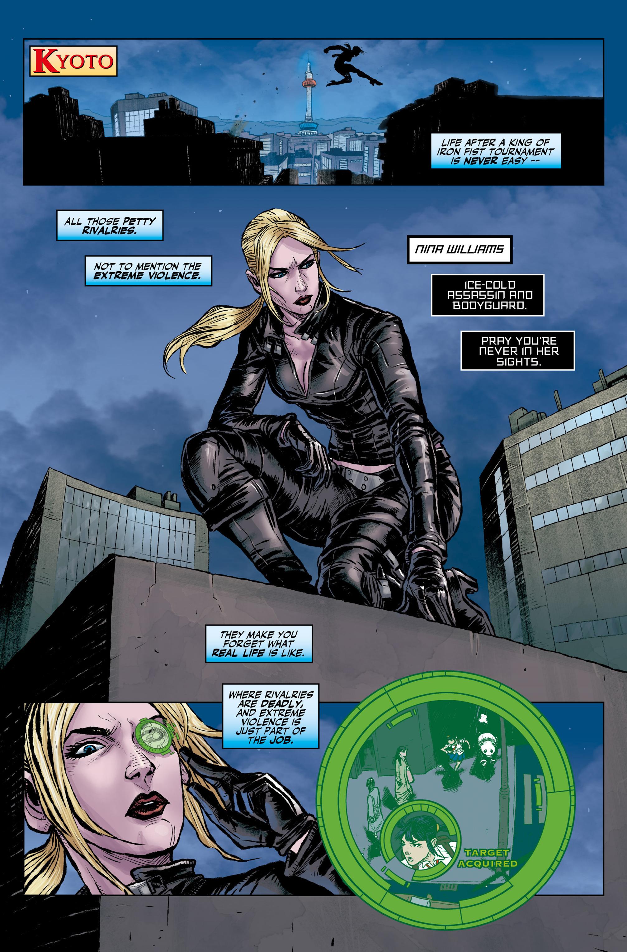 Read online Tekken comic -  Issue #1 - 9