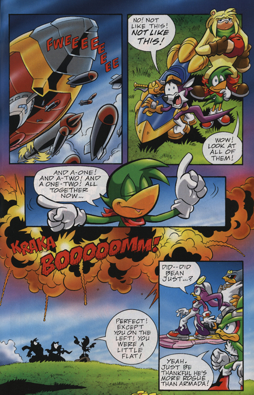 Read online Sonic Universe comic -  Issue #23 - 19