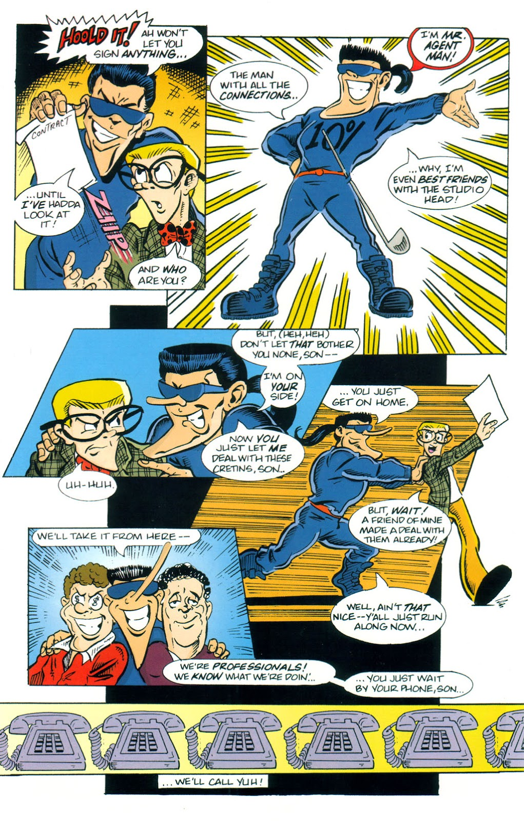 Read online Normalman 20th Anniversary Special comic -  Issue # Full - 30