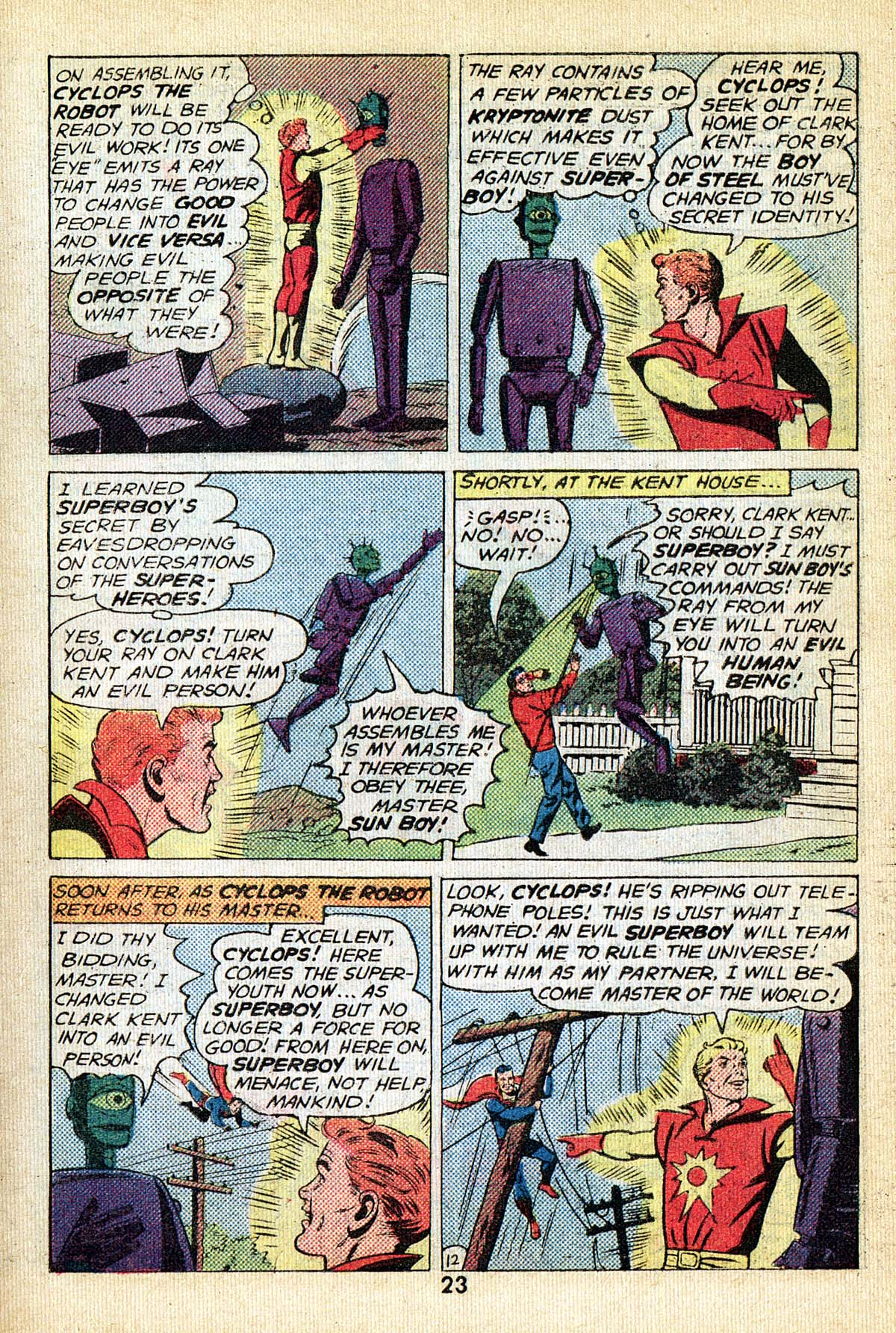 Read online Adventure Comics (1938) comic -  Issue #495 - 23