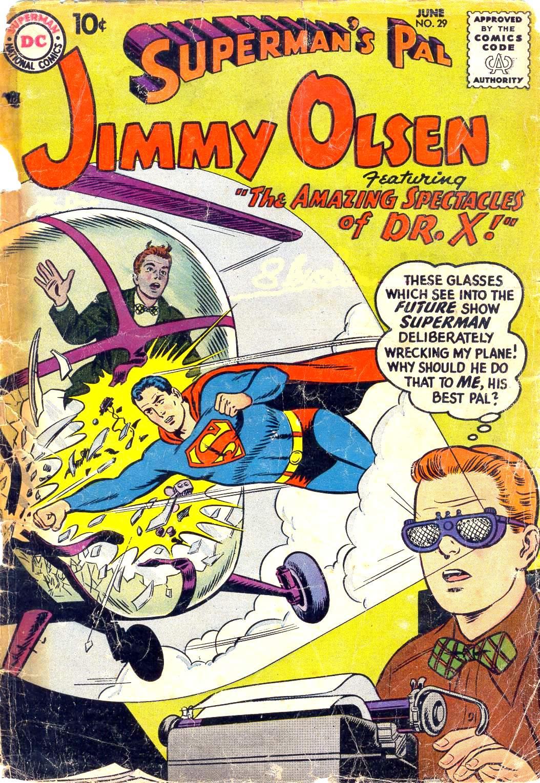 Supermans Pal Jimmy Olsen (1954) 29 Page 1