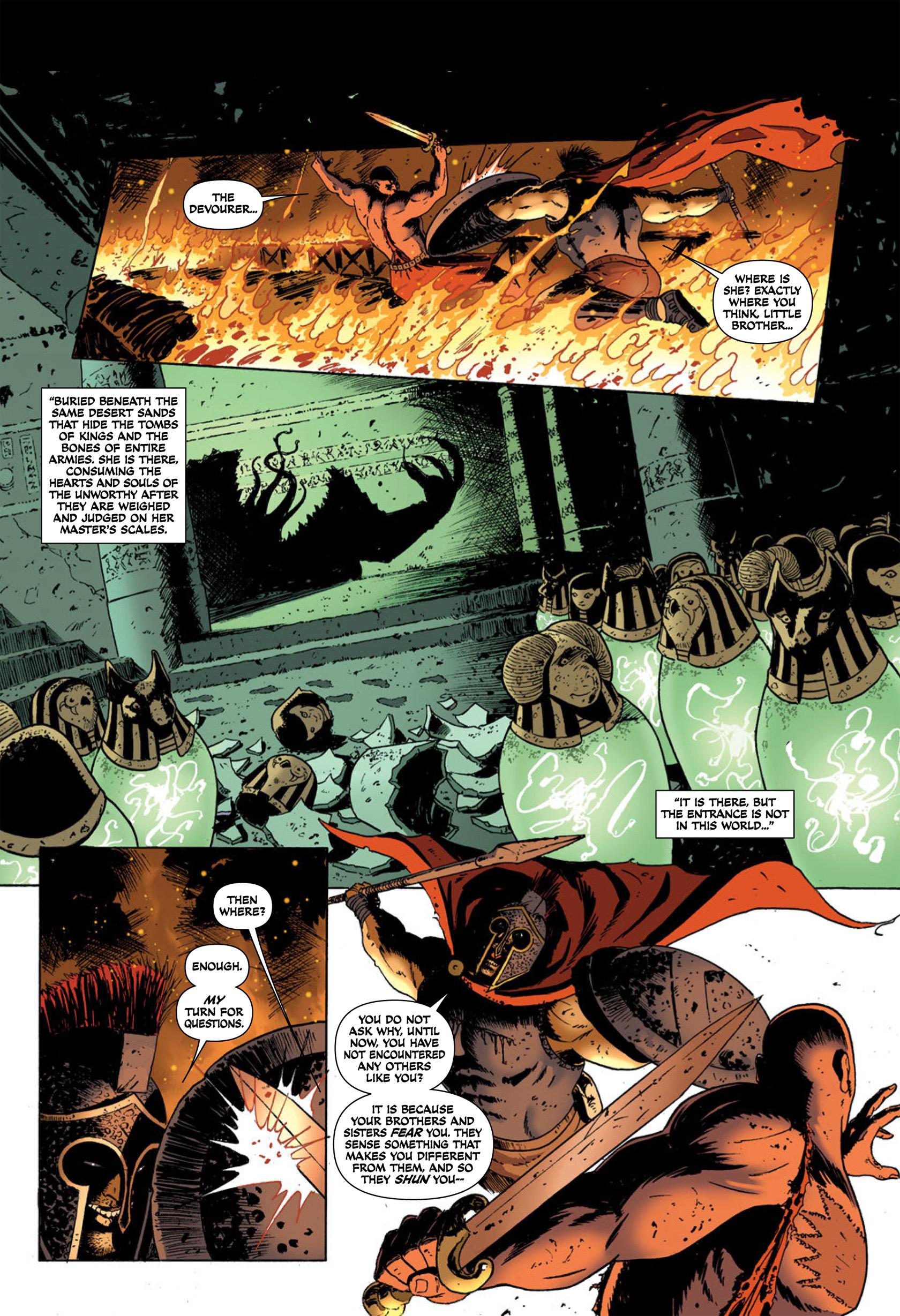 Read online Aquila comic -  Issue #2 - 15