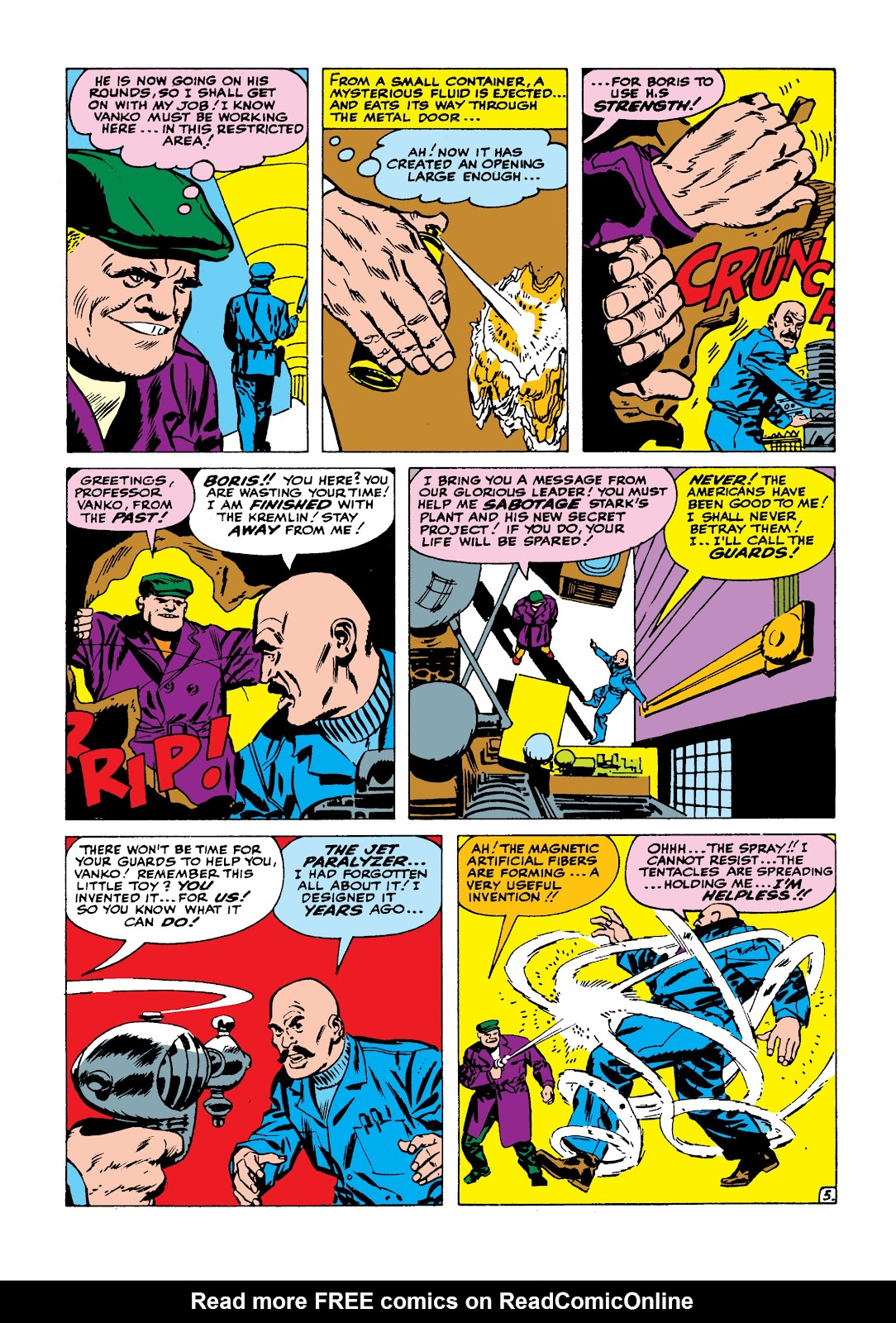Read online Marvel Masterworks: The Invincible Iron Man comic -  Issue # TPB 2 (Part 1) - 22