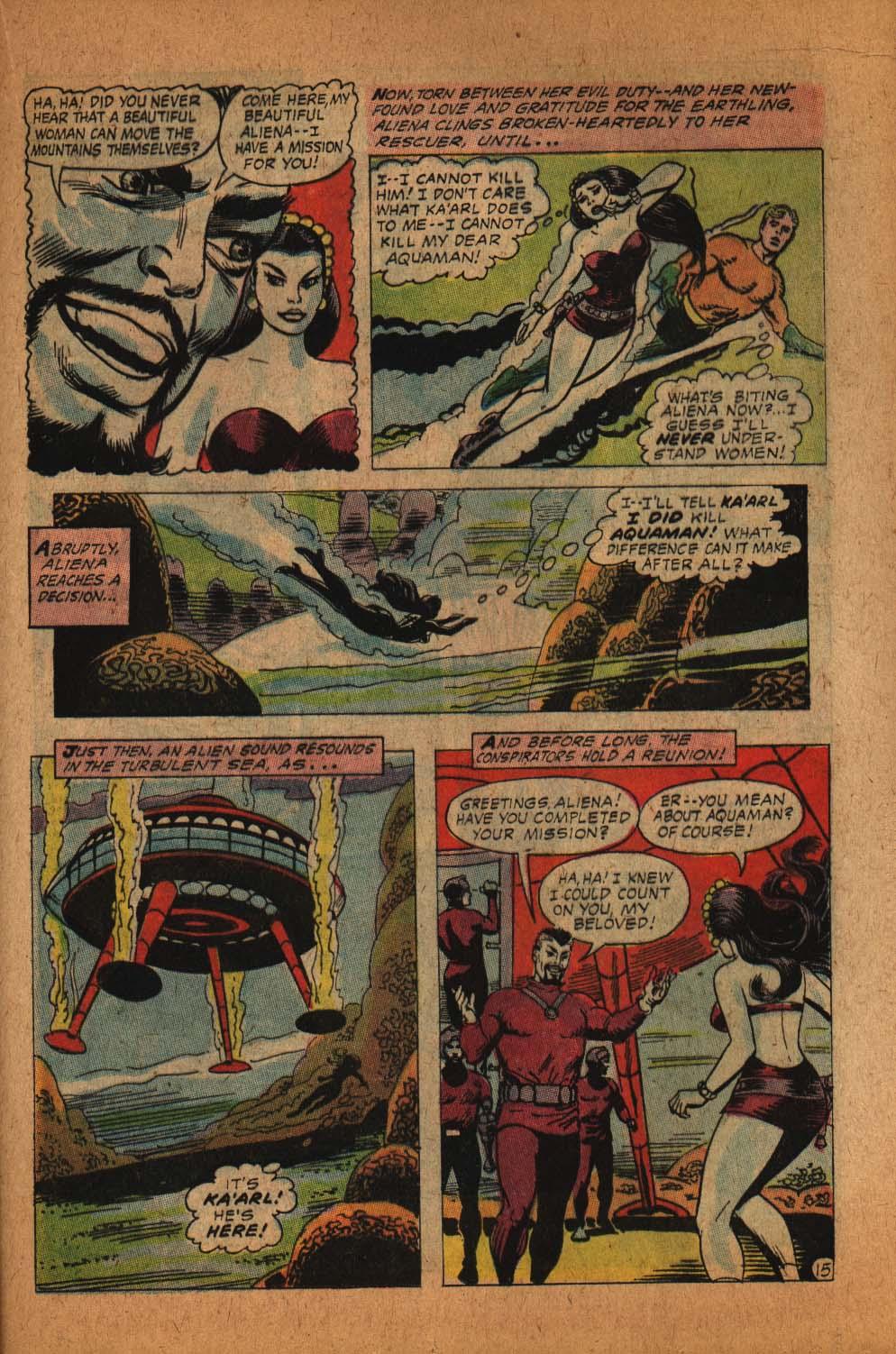 Read online Aquaman (1962) comic -  Issue #39 - 22