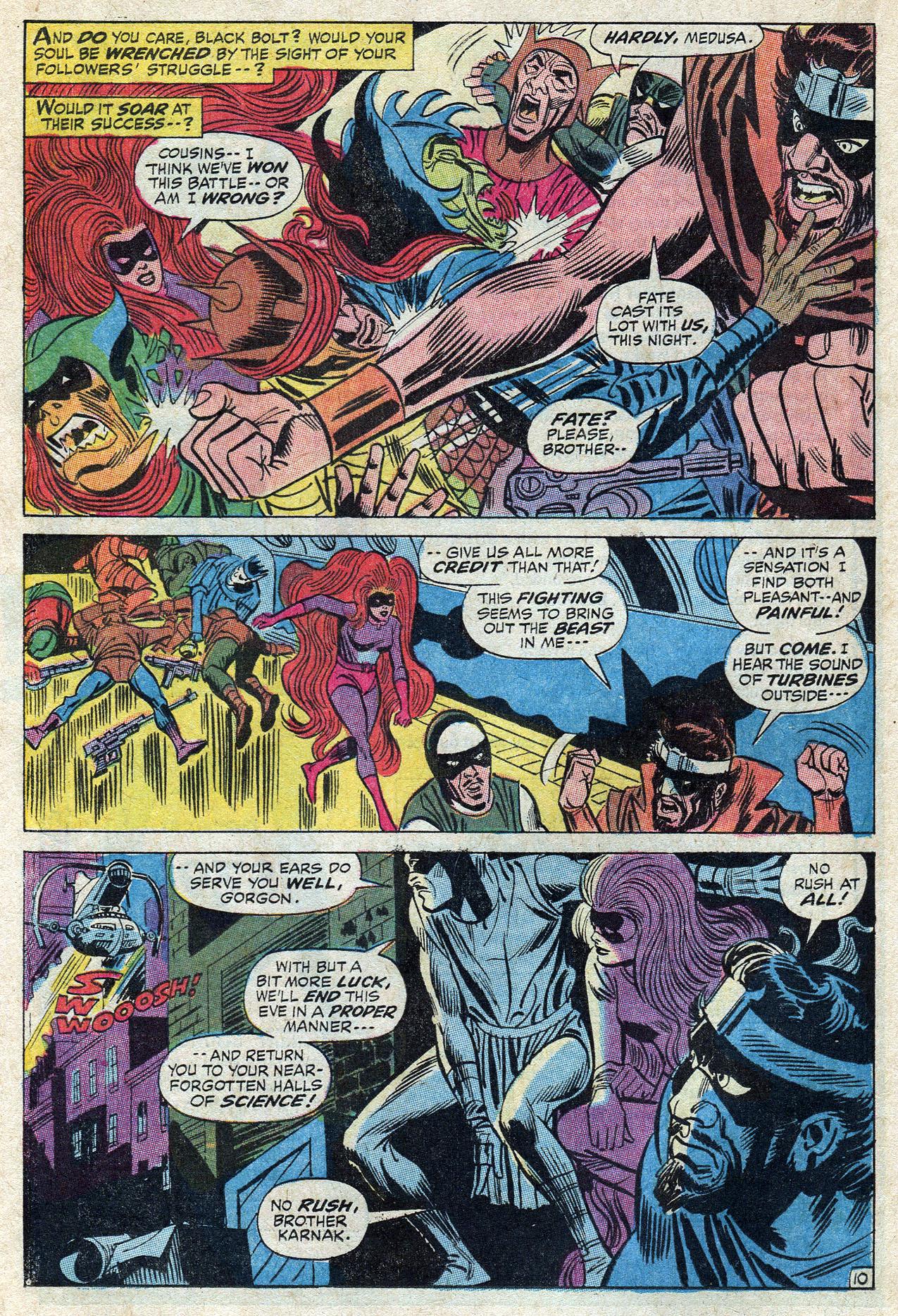 Read online Amazing Adventures (1970) comic -  Issue #10 - 16