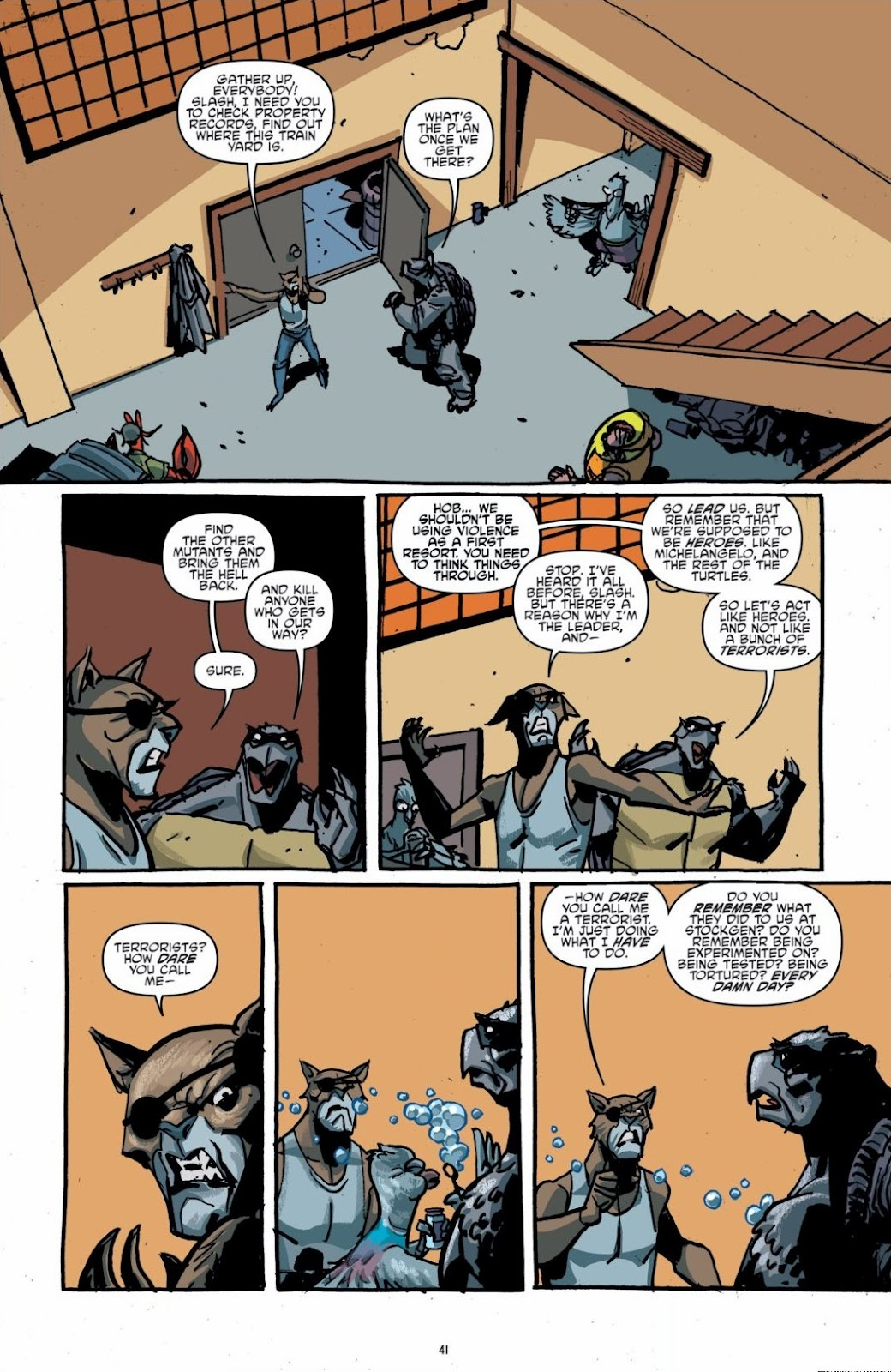 Read online Teenage Mutant Ninja Turtles: The IDW Collection comic -  Issue # TPB 6 (Part 1) - 40