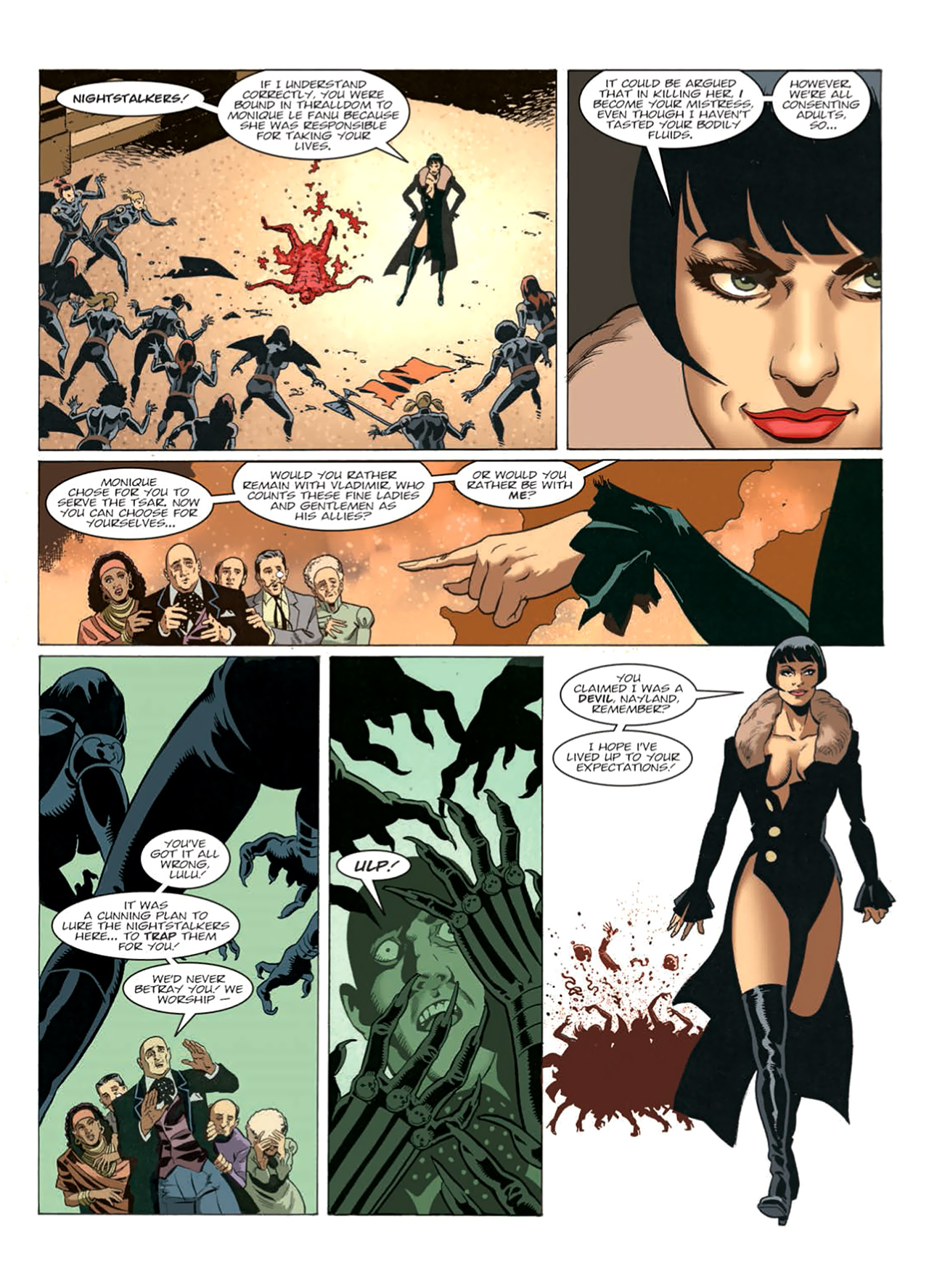 Read online Nikolai Dante comic -  Issue # TPB 9 - 180
