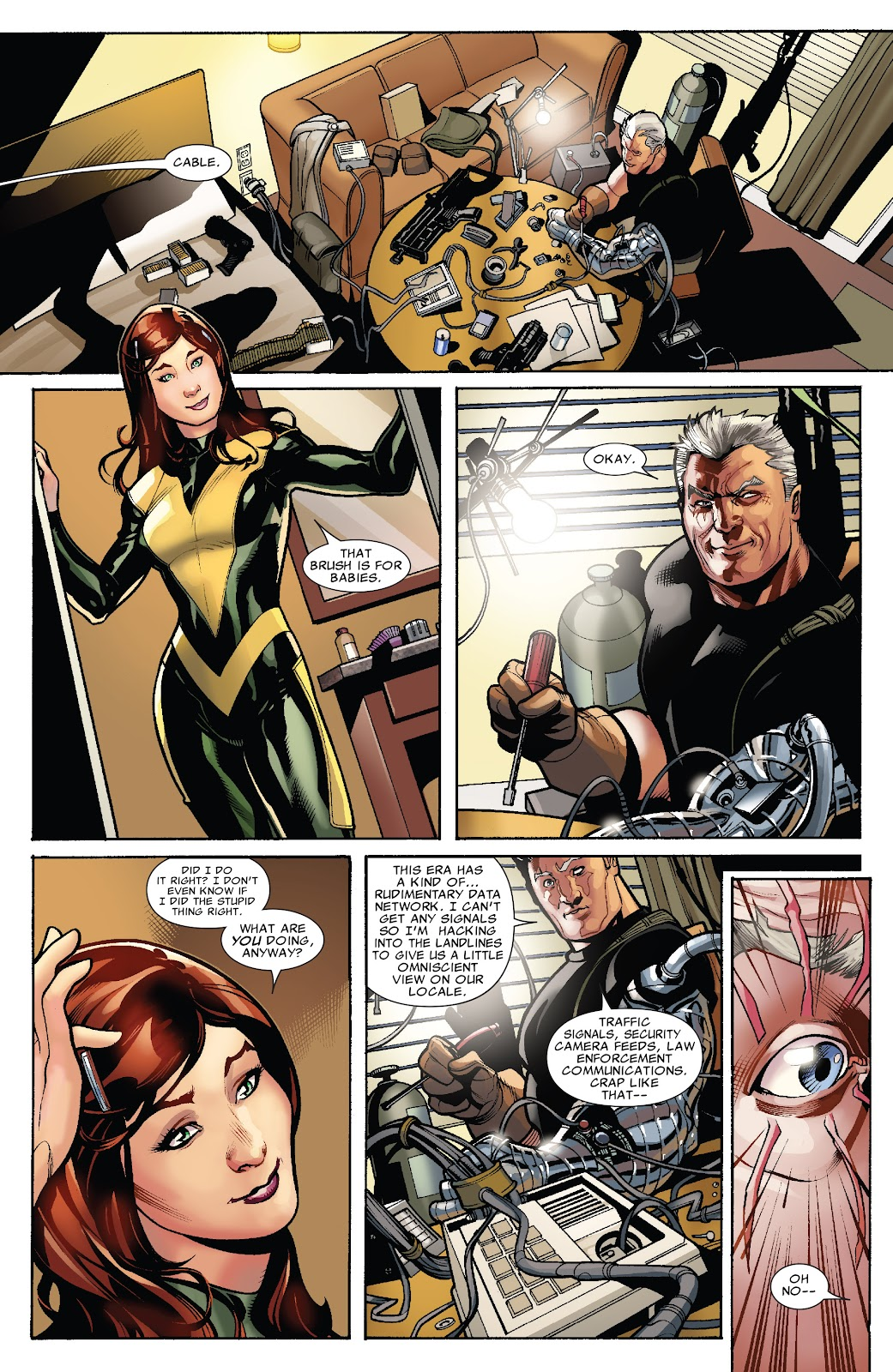 Read online X-Men: Second Coming comic -  Issue # _TPB (Part 1) - 58