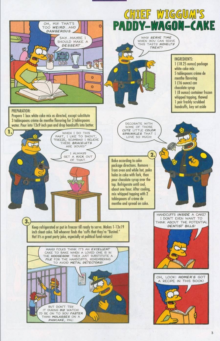 Read online Simpsons Comics comic -  Issue #71 - 25