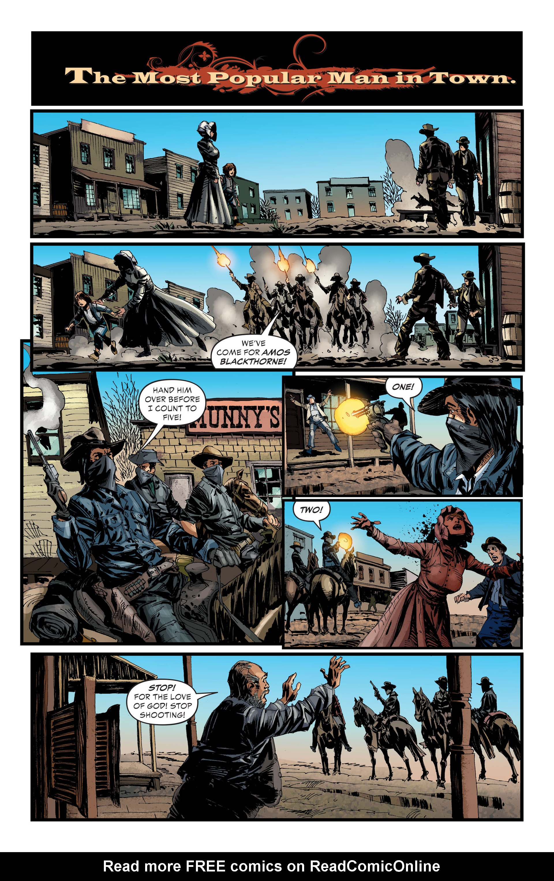 Read online All-Star Western (2011) comic -  Issue #33 - 7