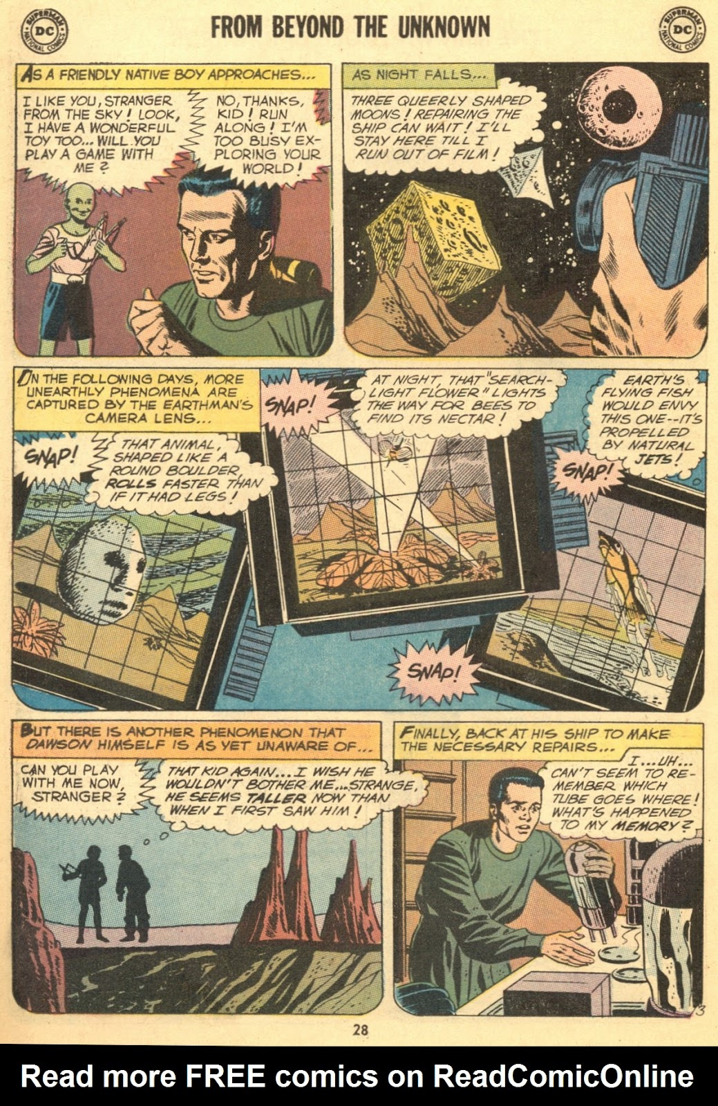From Beyond the Unknown (1969) issue 9 - Page 30
