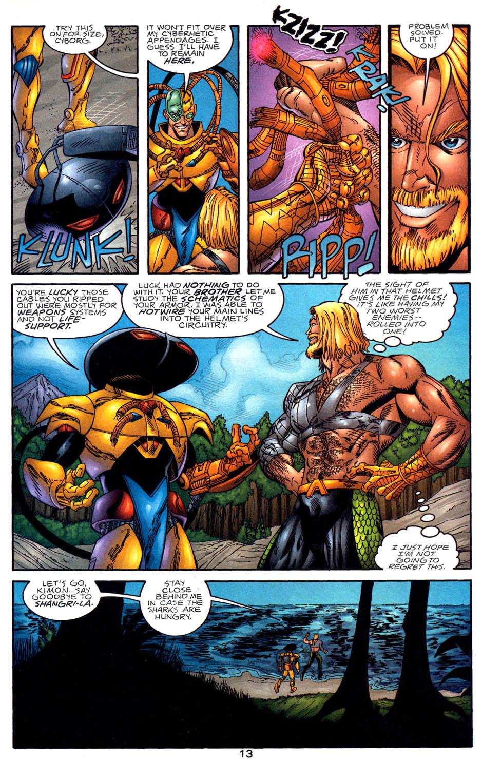 Read online Aquaman (1994) comic -  Issue #58 - 13