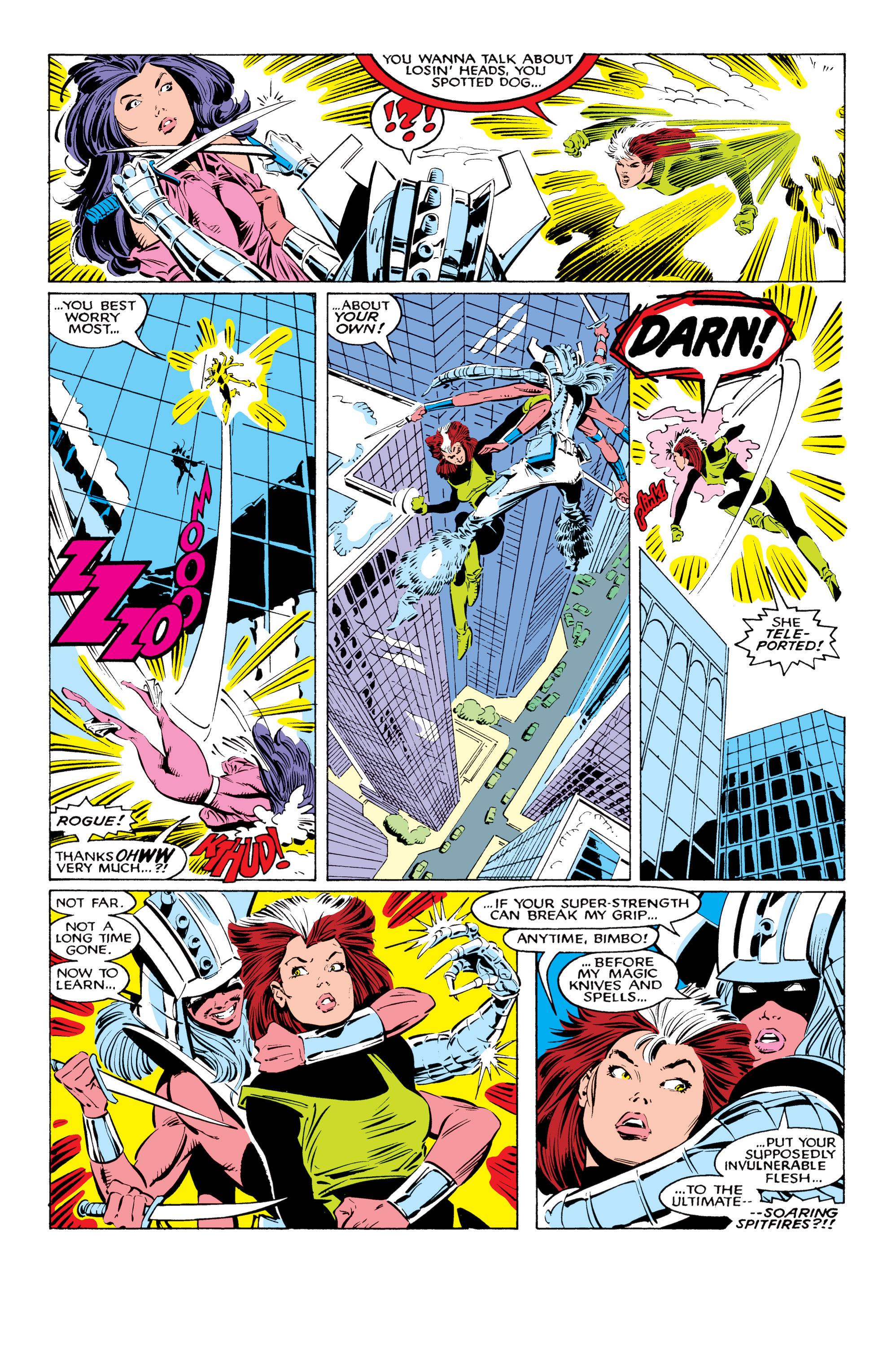 Read online Uncanny X-Men (1963) comic -  Issue #226 - 8