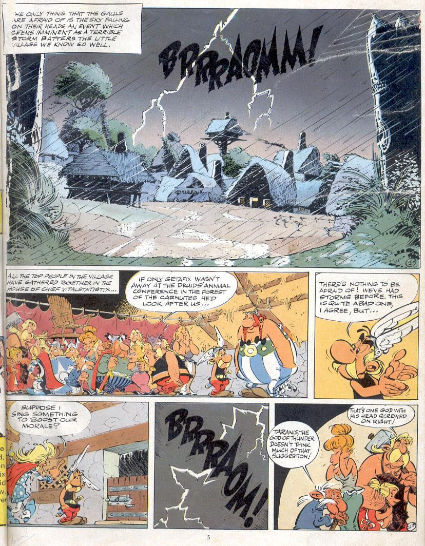 Read online Asterix comic -  Issue #19 - 2