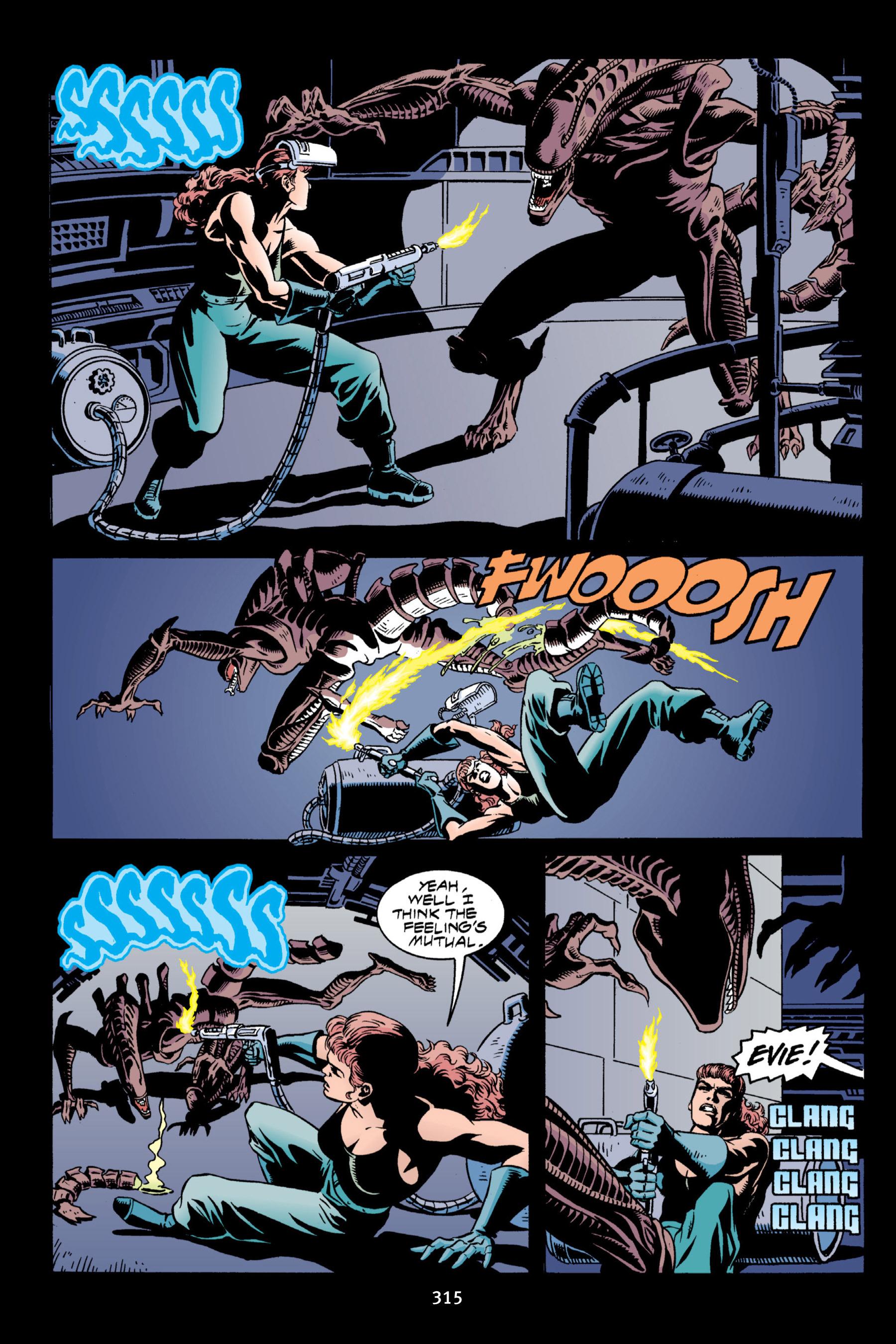 Read online Aliens vs. Predator Omnibus comic -  Issue # _TPB 2 Part 3 - 90