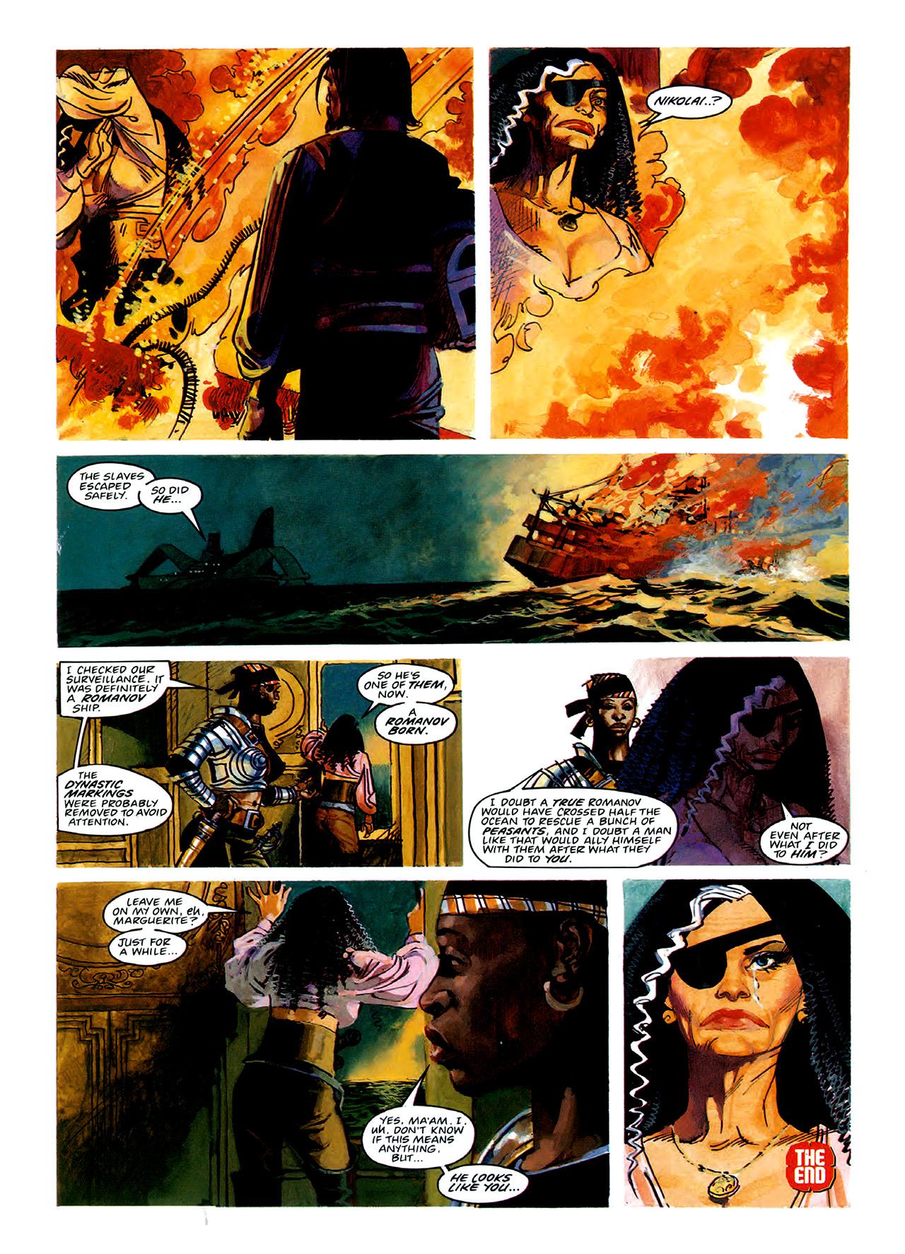 Read online Nikolai Dante comic -  Issue # TPB 3 - 47