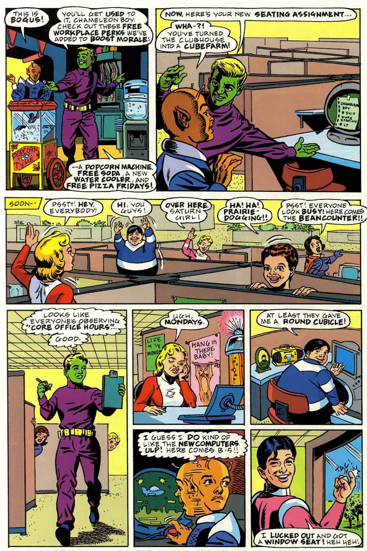 Read online Bizarro World comic -  Issue # TPB - 128