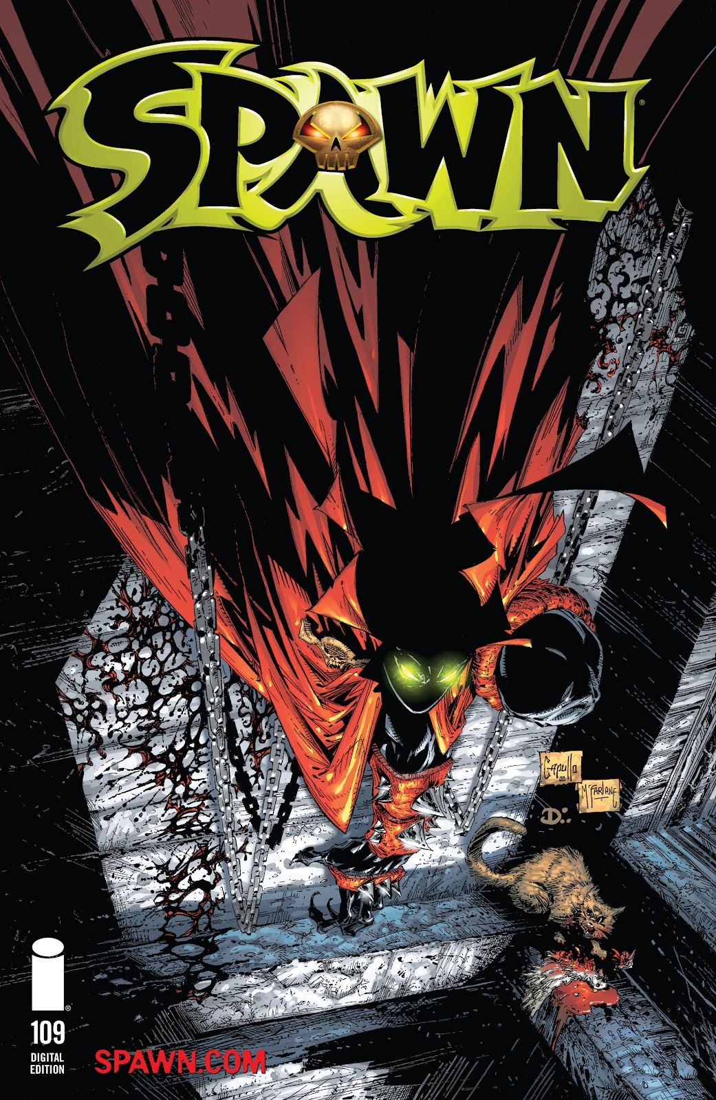 Spawn 109 Page 1