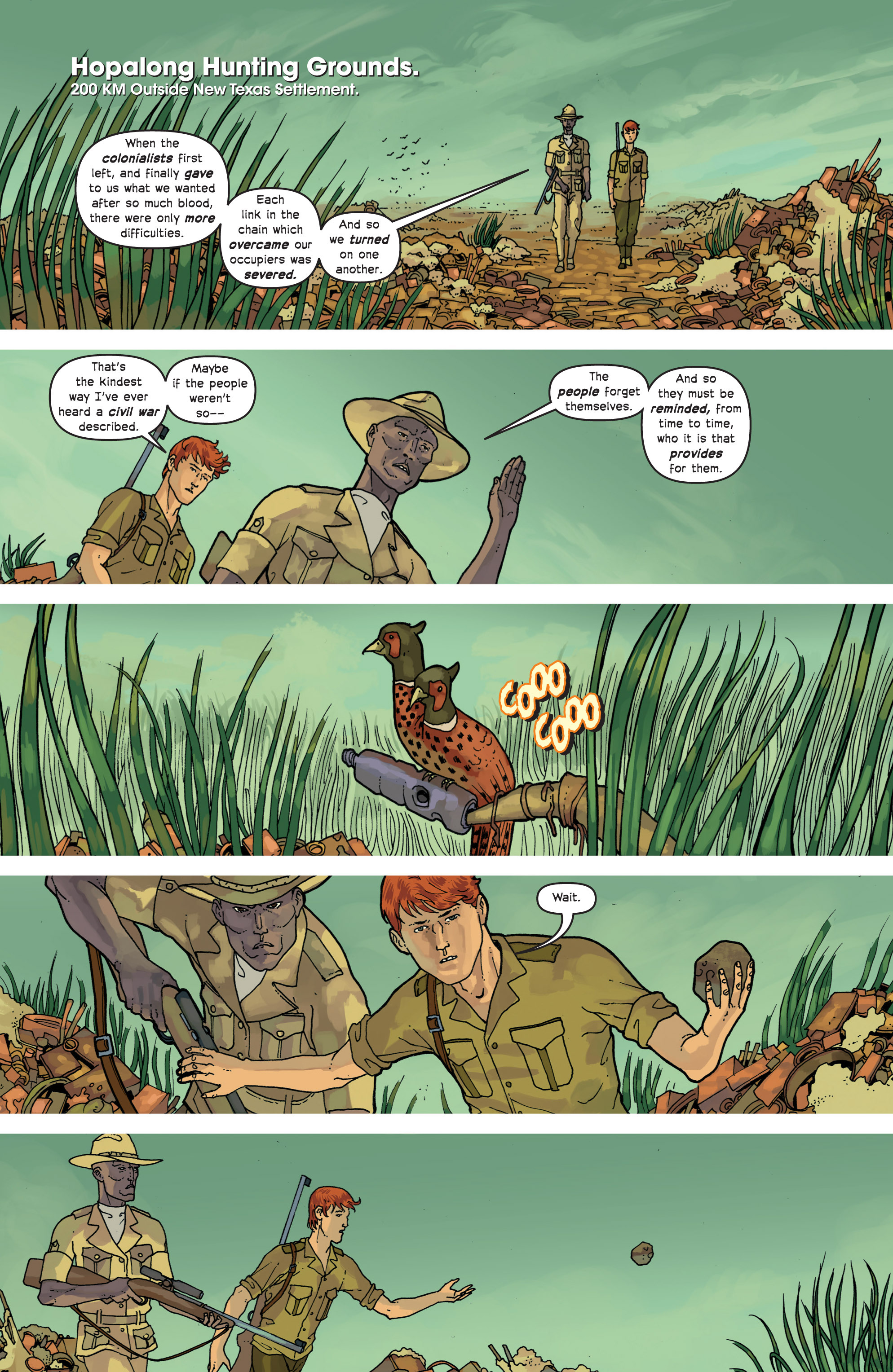 Read online Great Pacific comic -  Issue #9 - 15