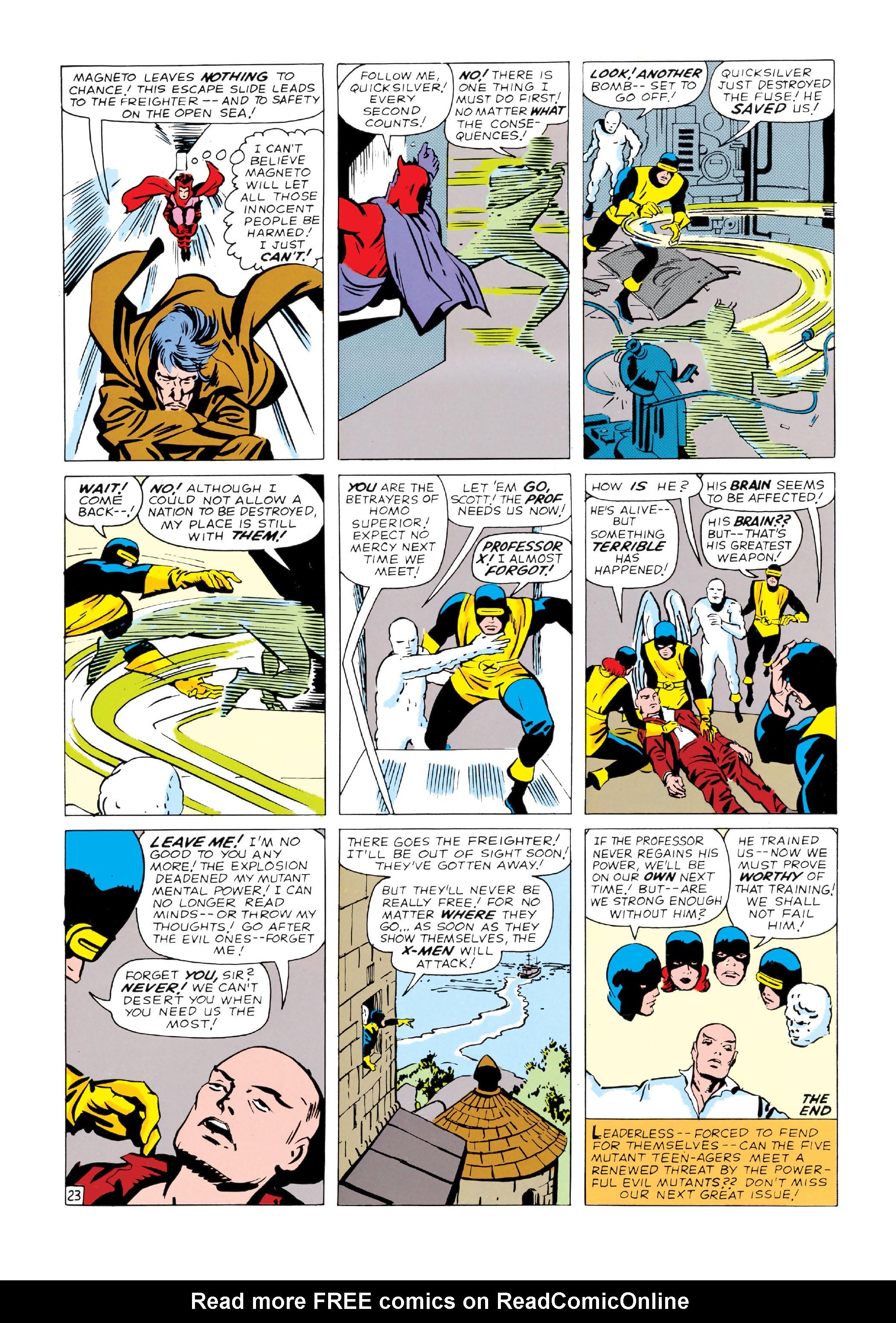 Read online Uncanny X-Men (1963) comic -  Issue #4 - 24