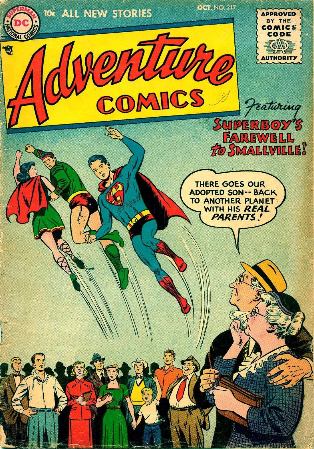 Read online Adventure Comics (1938) comic -  Issue #217 - 1