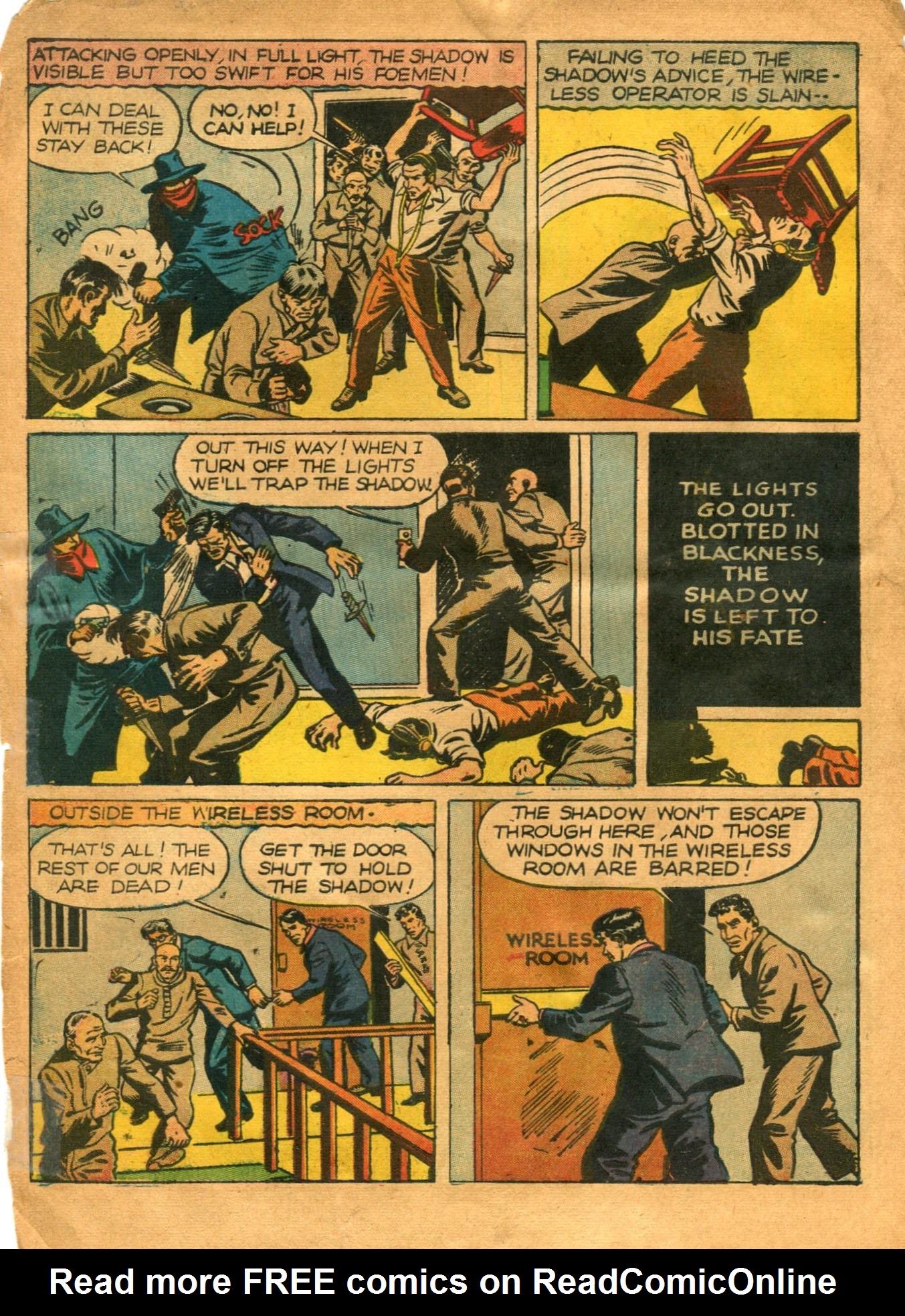 Read online Shadow Comics comic -  Issue #12 - 10