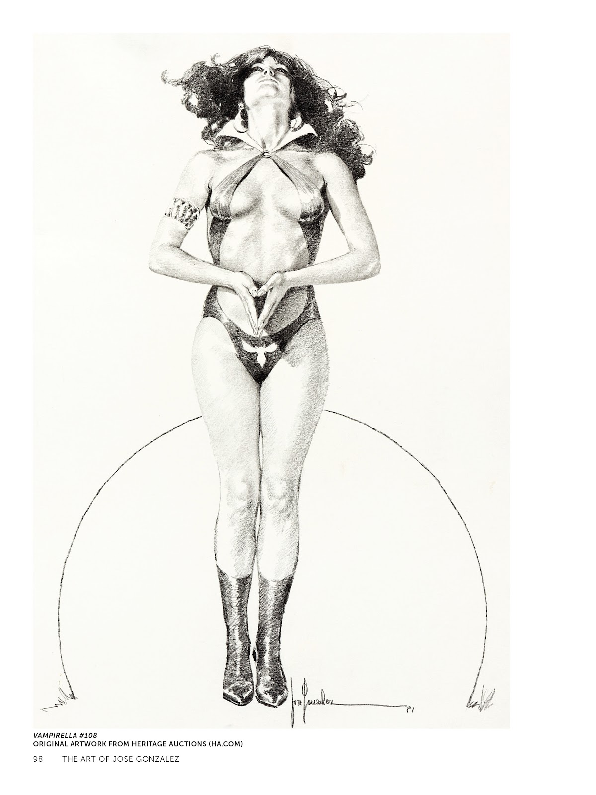 Read online The Art of Jose Gonzalez comic -  Issue # TPB (Part 1) - 99