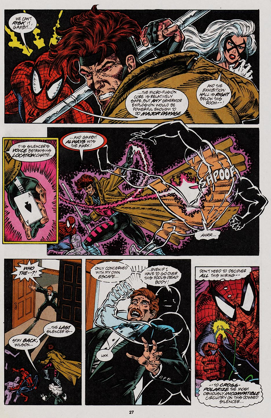 Web of Spider-Man (1985) Issue #113 #123 - English 22