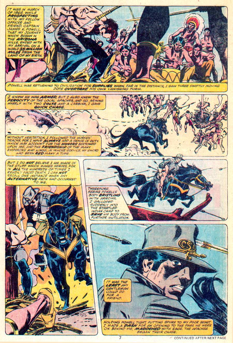 John Carter Warlord of Mars issue 1 - Page 6