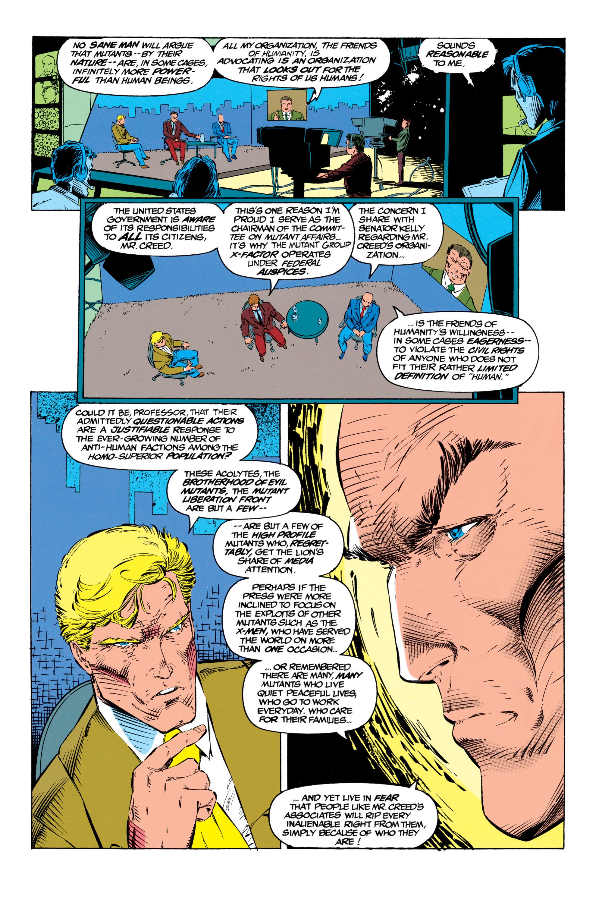 Read online Uncanny X-Men (1963) comic -  Issue #299 - 9