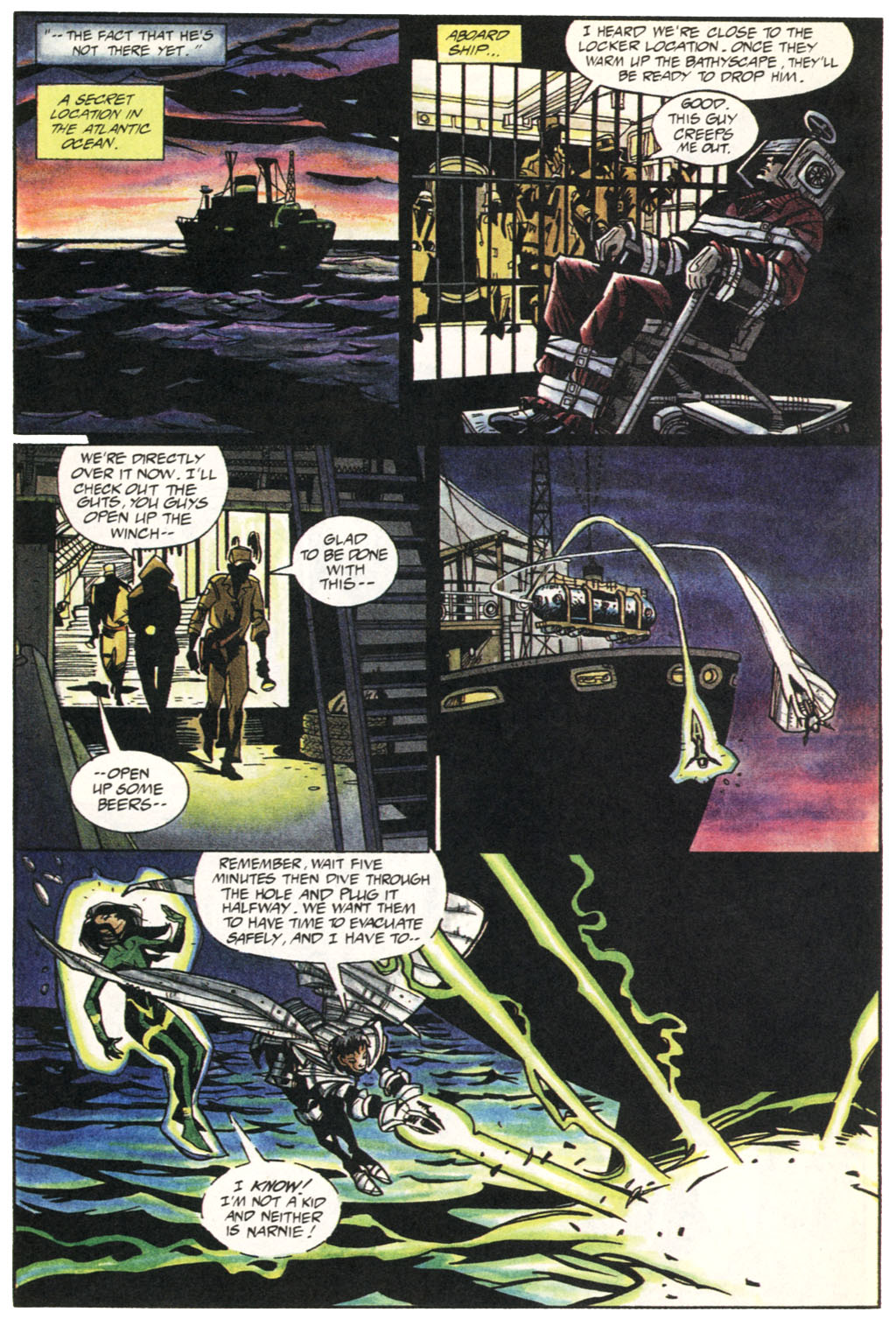 Read online Shadow Cabinet comic -  Issue #1 - 12