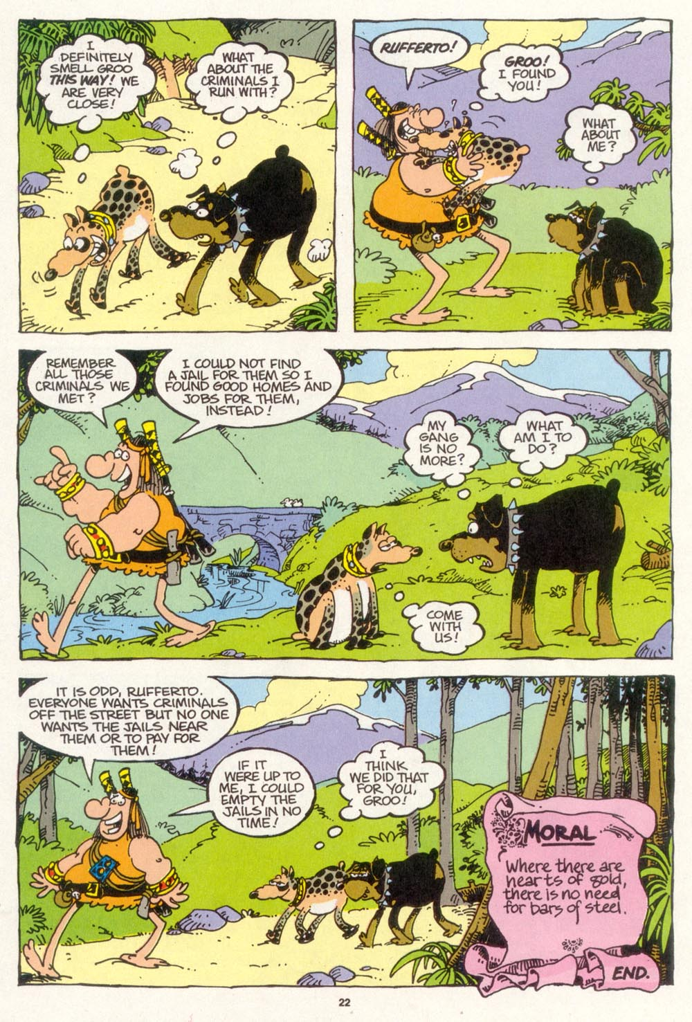 Read online Sergio Aragonés Groo the Wanderer comic -  Issue #103 - 24