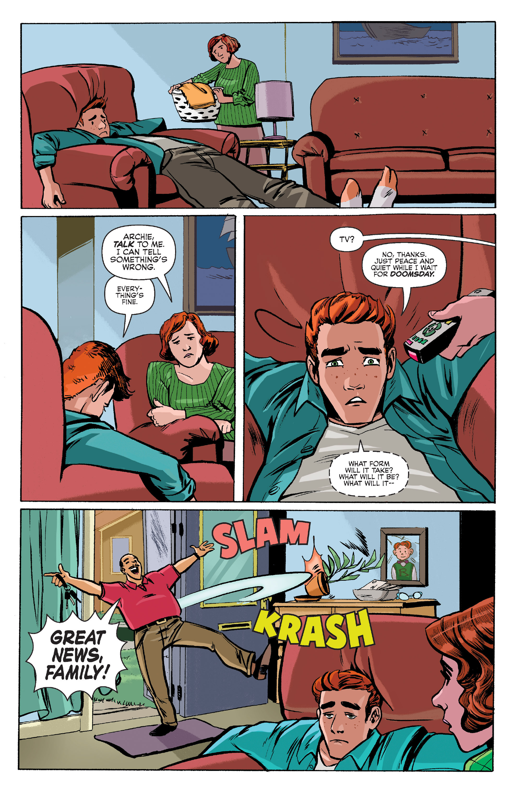 Read online Archie (2015) comic -  Issue #8 - 13